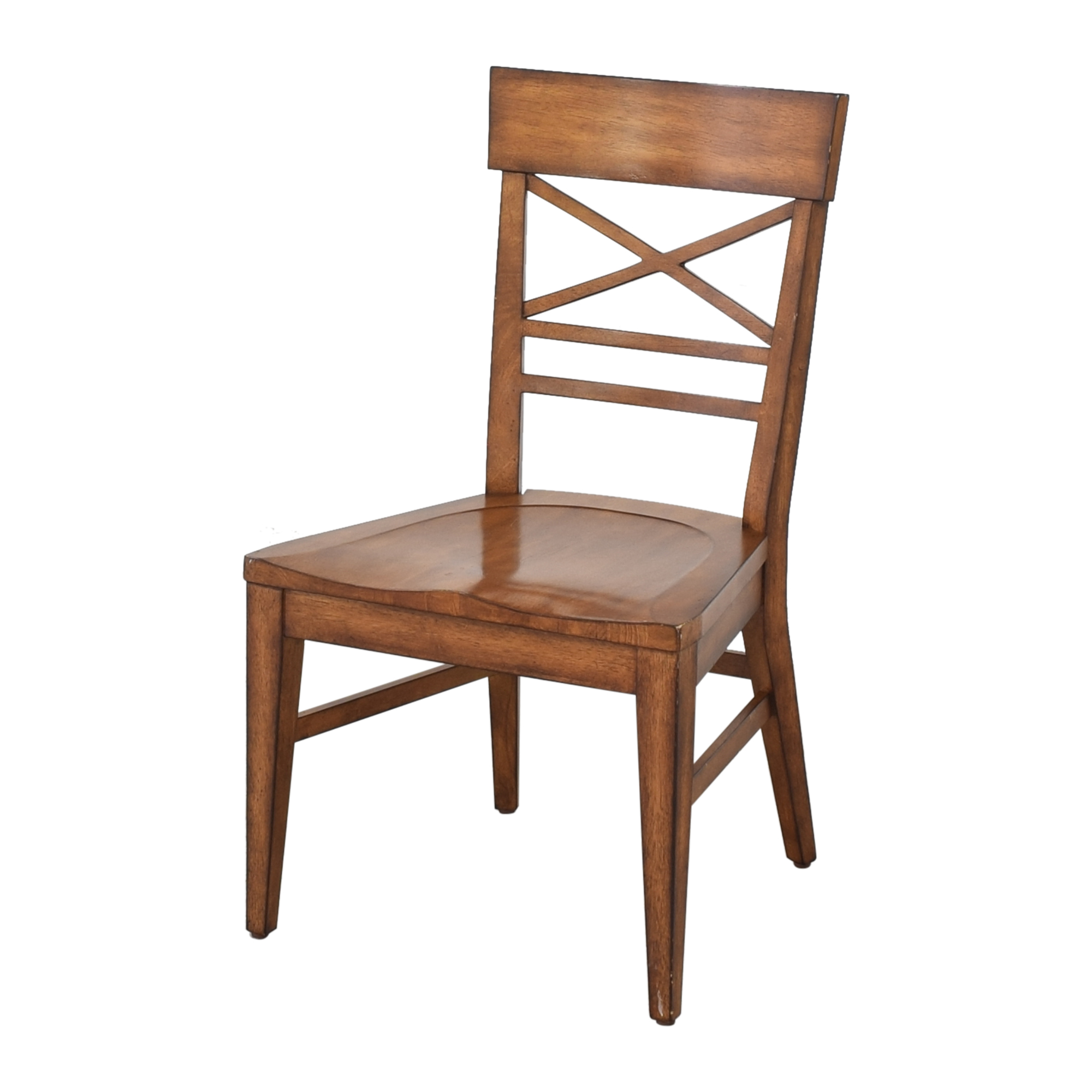 buy Ethan Allen Ethan Allen Blake Wood-Seat Side Chair online