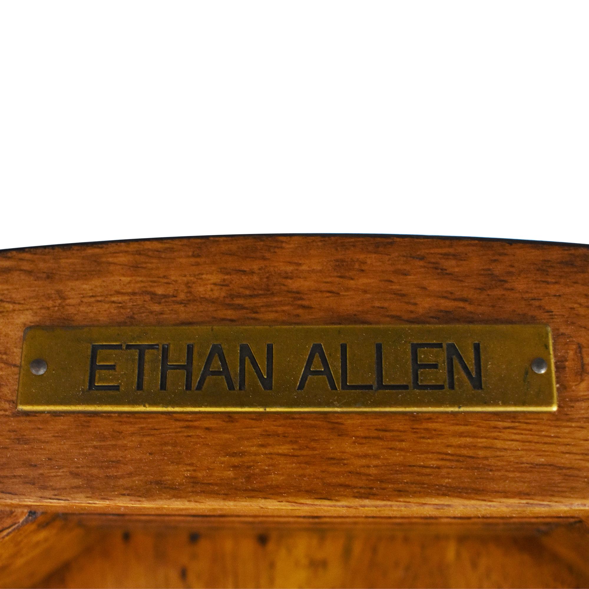 Ethan Allen Ethan Allen Blake Wood-Seat Side Chair