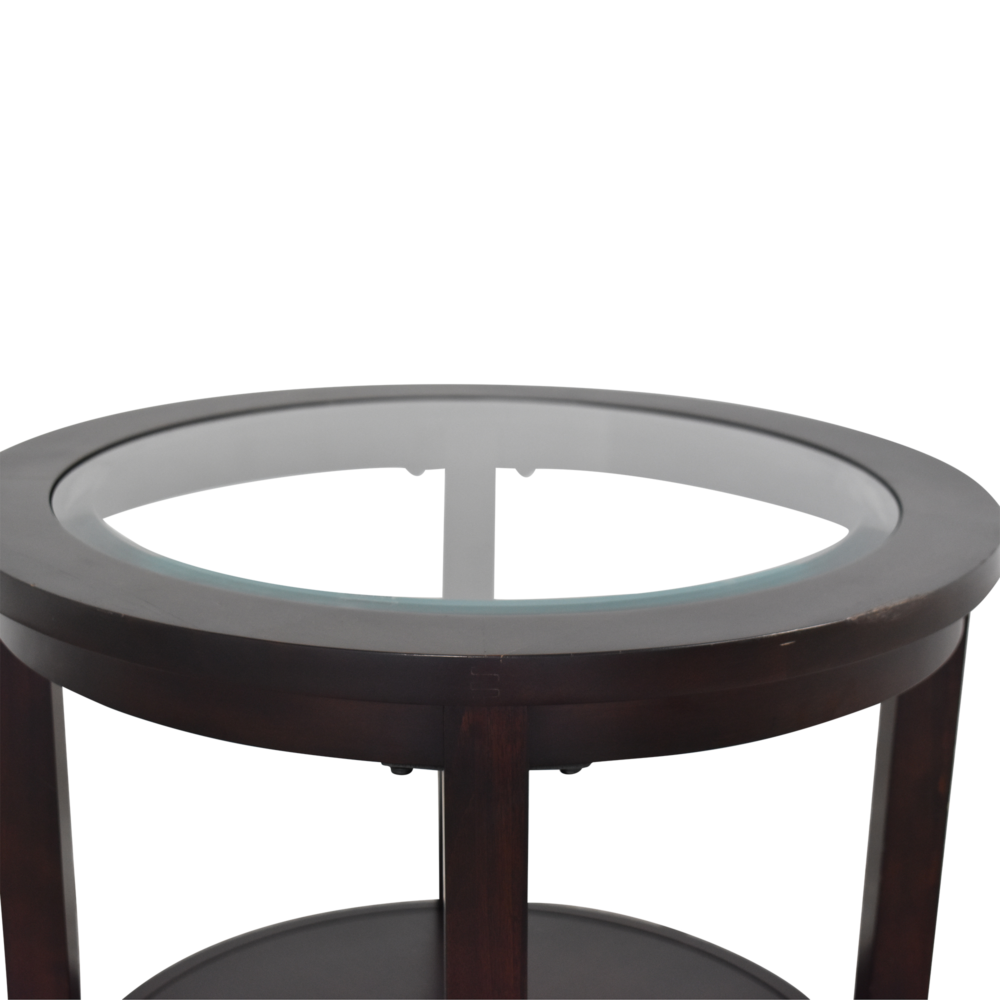 Z Gallerie Round End Table / Tables