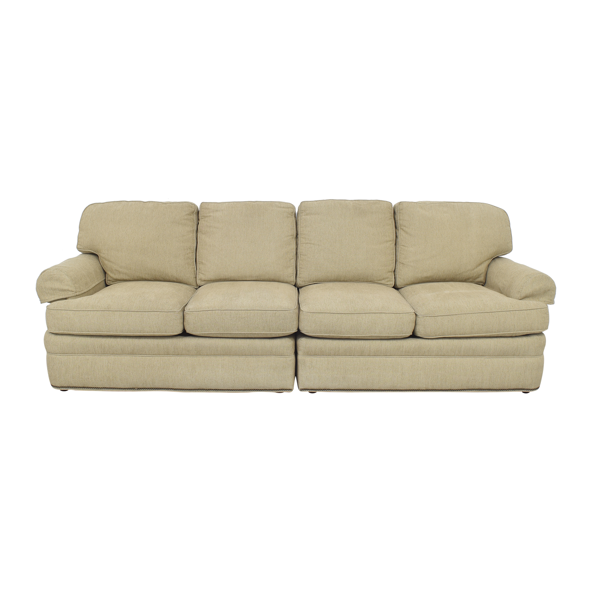 Safavieh Two Piece Sectional Sofa / Sectionals