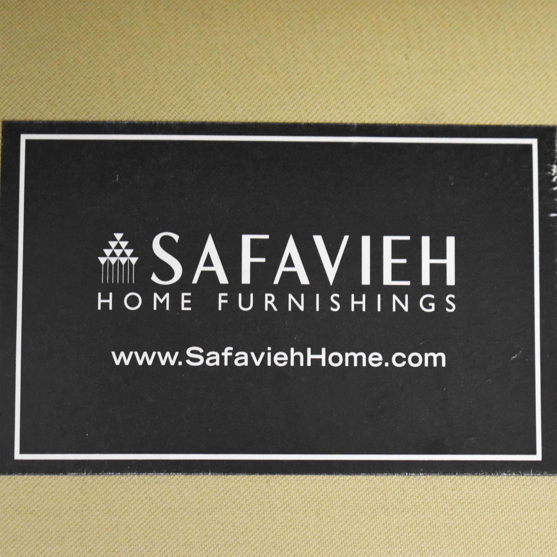 Safavieh Safavieh Geometric Pattern Club Chair with Ottoman ct