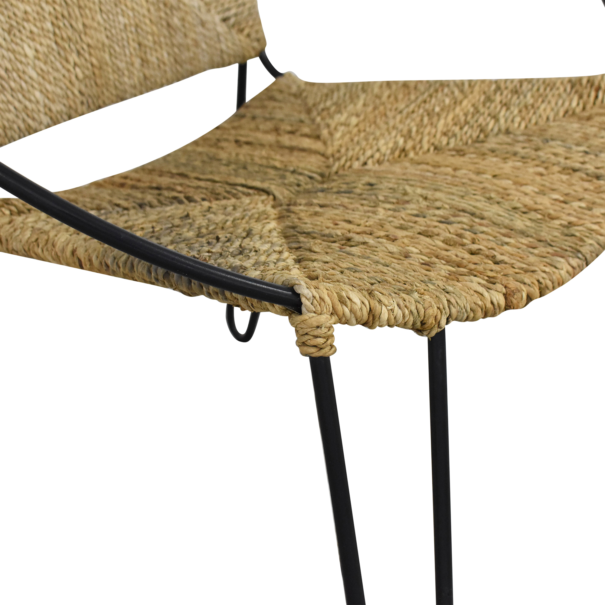 One Kings Lane Modern Round Accent Chair ct