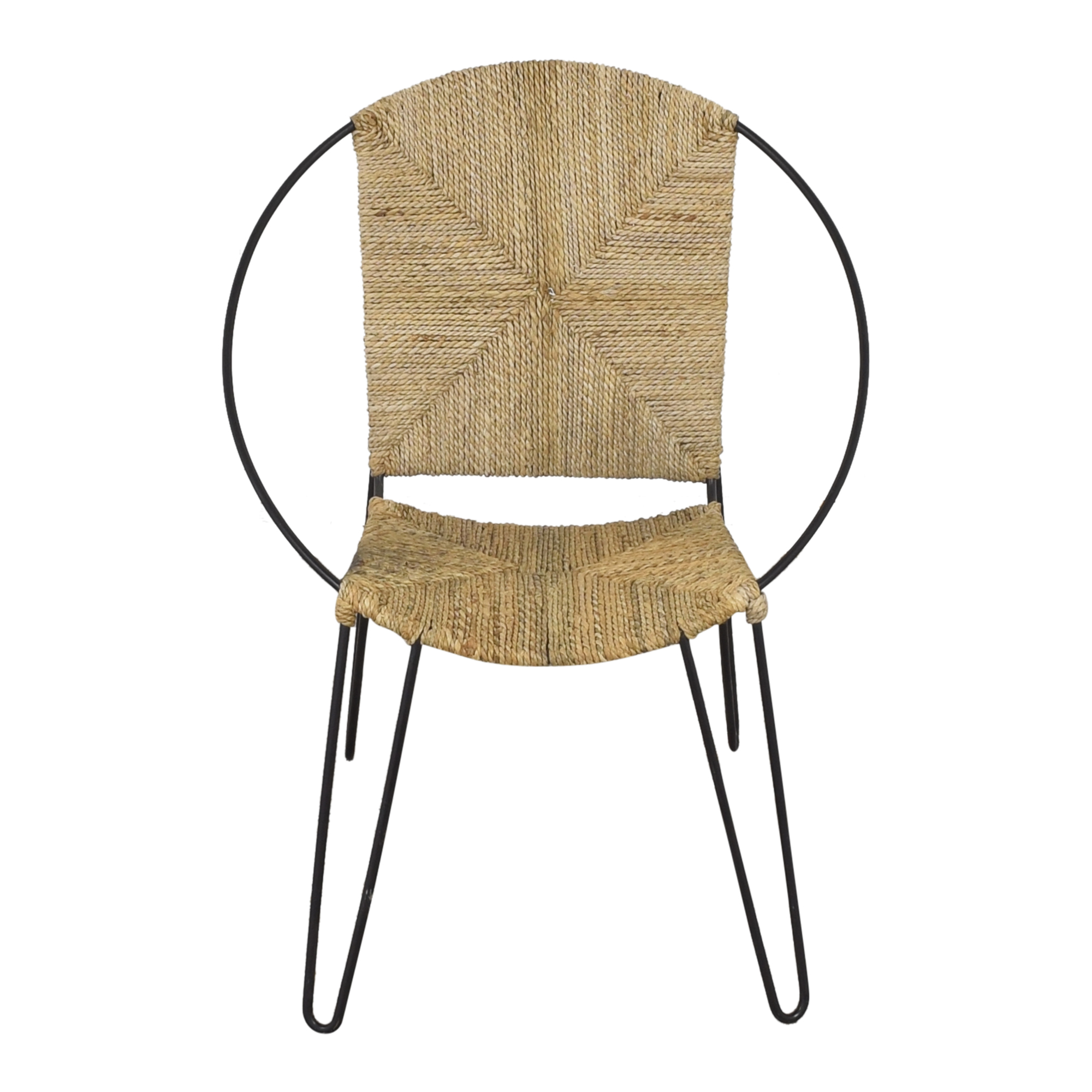 shop One Kings Lane Modern Round Accent Chair online