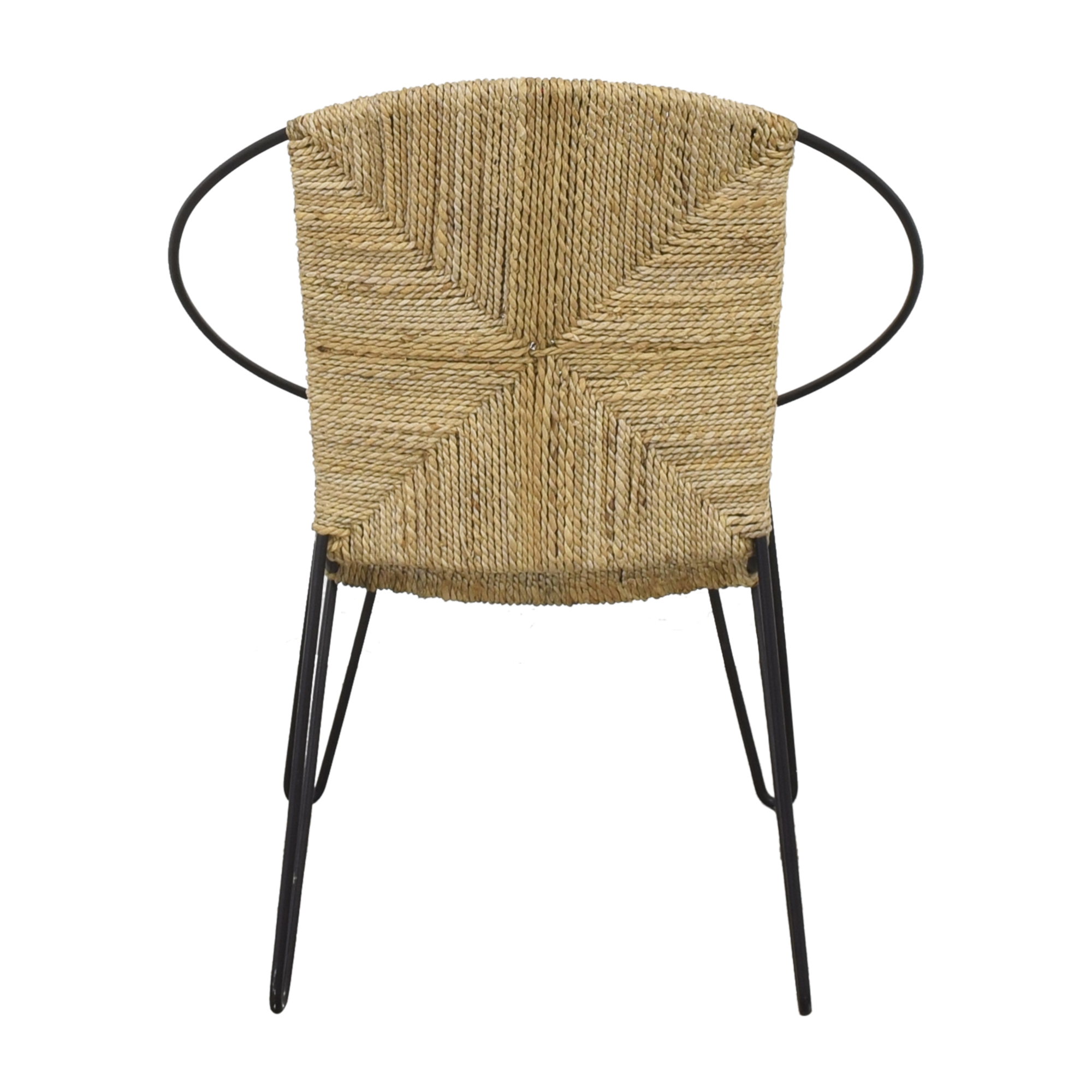 One Kings Lane Modern Round Accent Chair