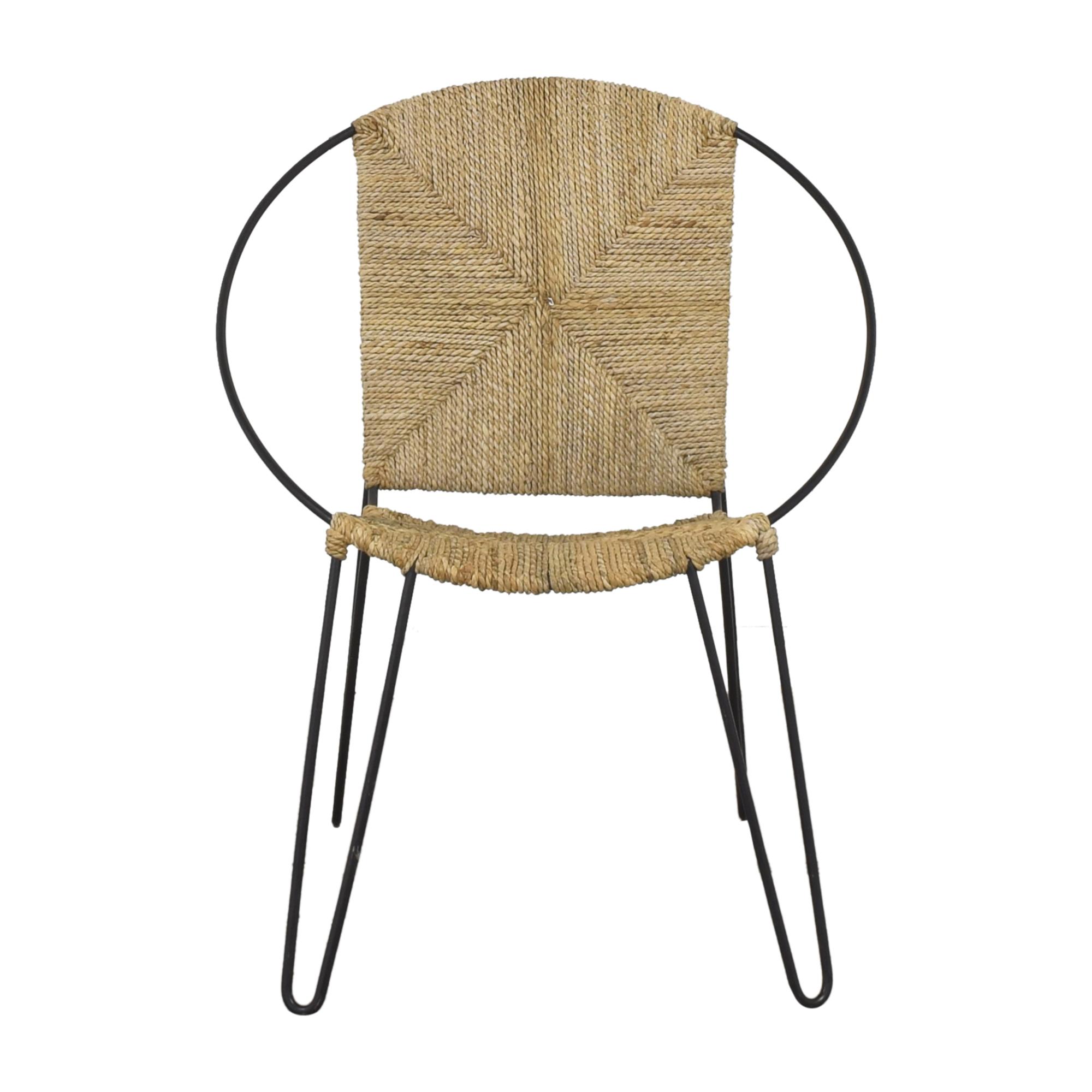 Modern Round Accent Chair sale