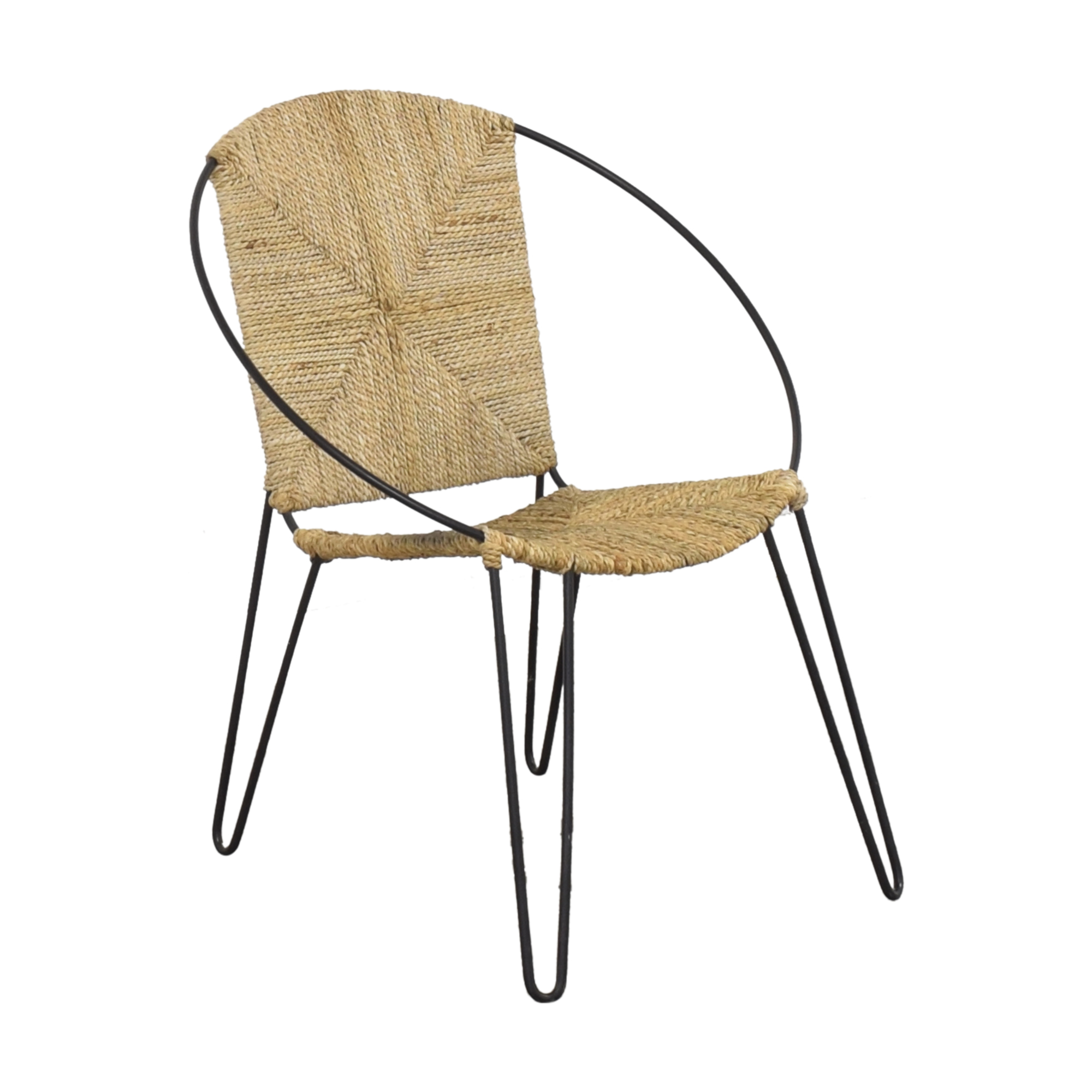 One Kings Lane Modern Round Accent Chair coupon