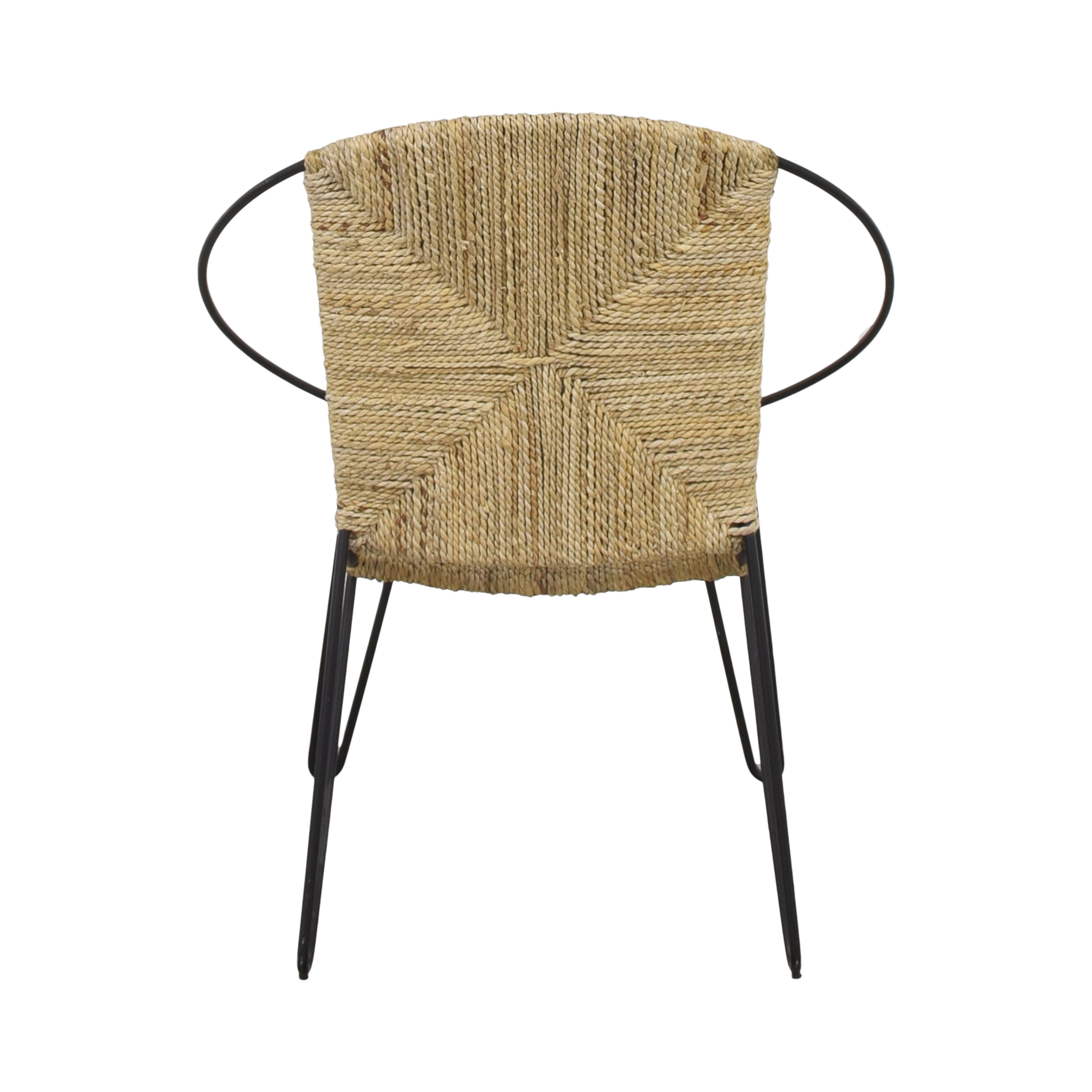 One Kings Lane Modern Round Accent Chair dimensions