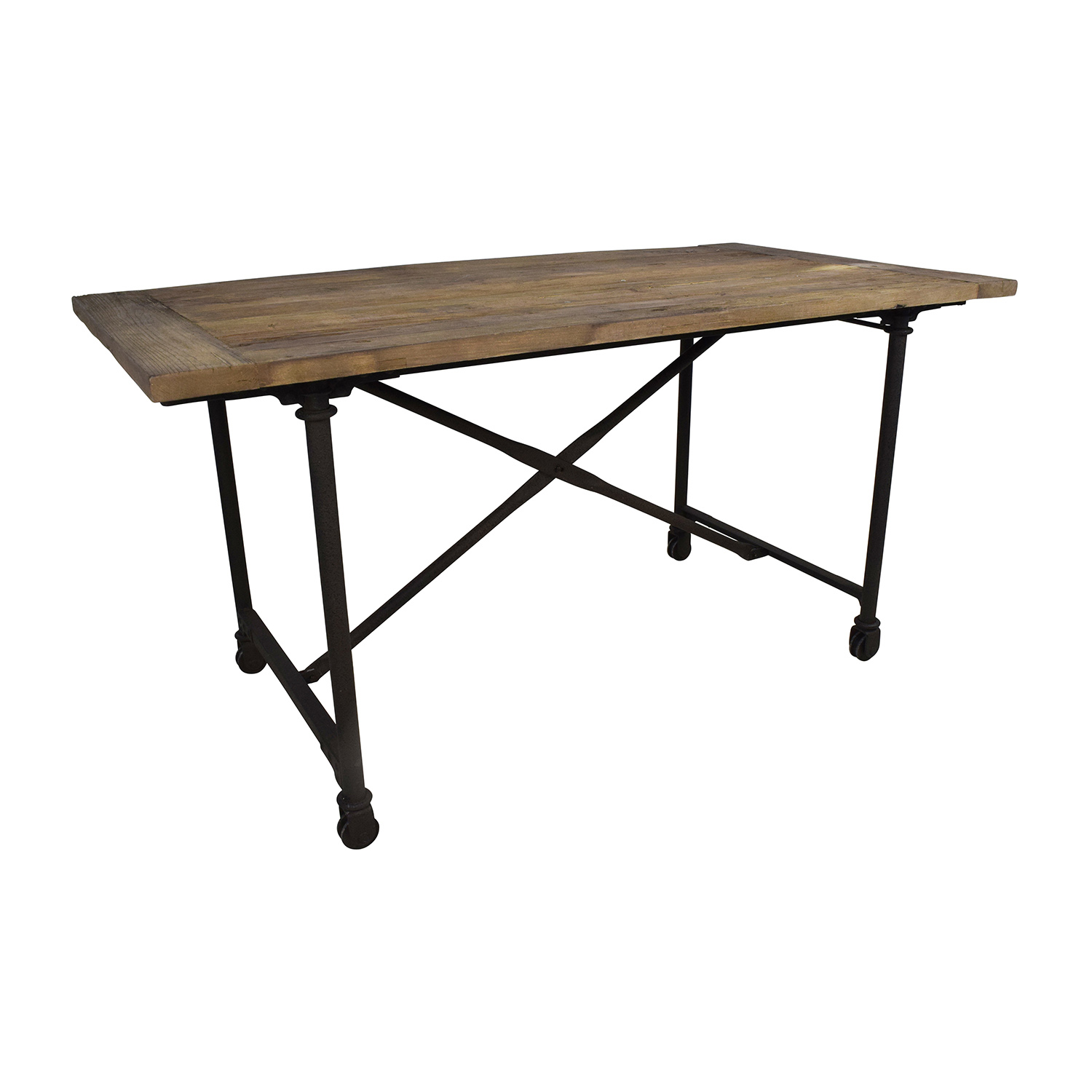 restoration hardware reclaimed natural elm dining table tables