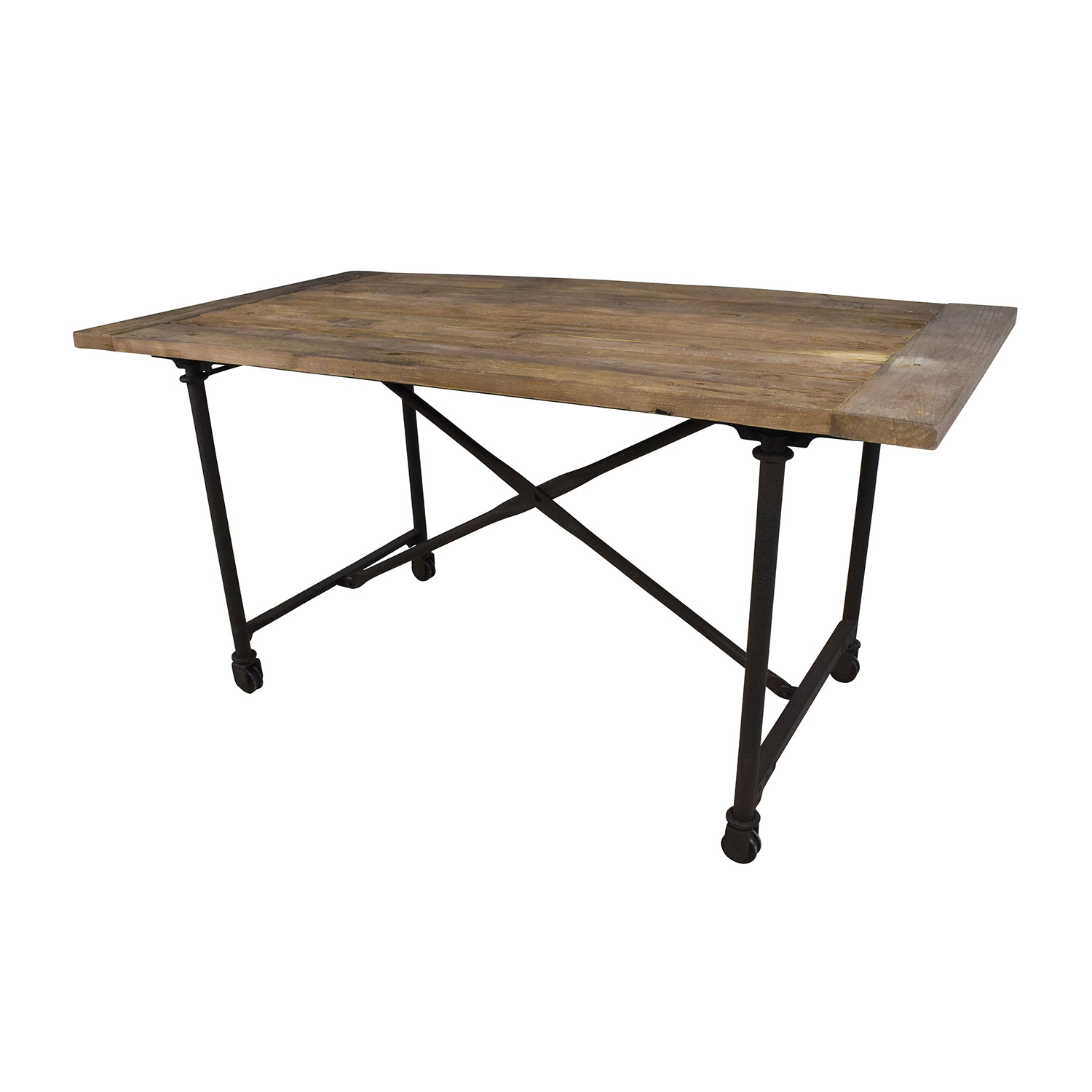 ... Buy Restoration Hardware Reclaimed Natural Elm Dining Table Restoration  Hardware Dinner Tables ... Part 89