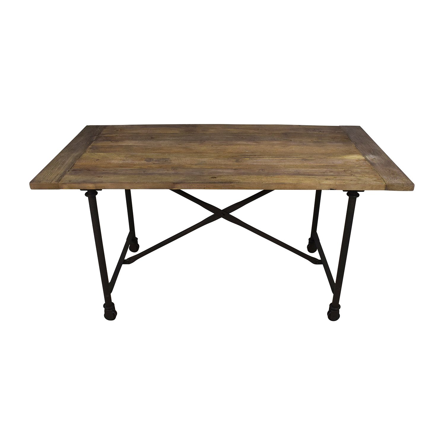 Restoration Hardware Reclaimed Natural Elm Dining Table sale