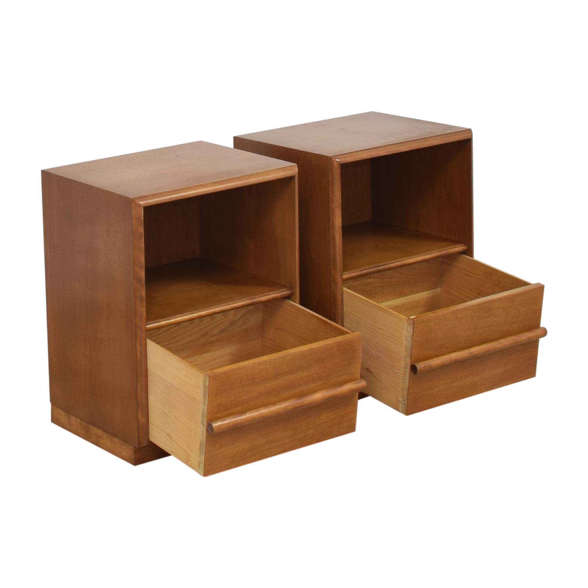 shop T.H. Robsjohn Gibbings for Widdicomb Nightstands Widdicomb Tables