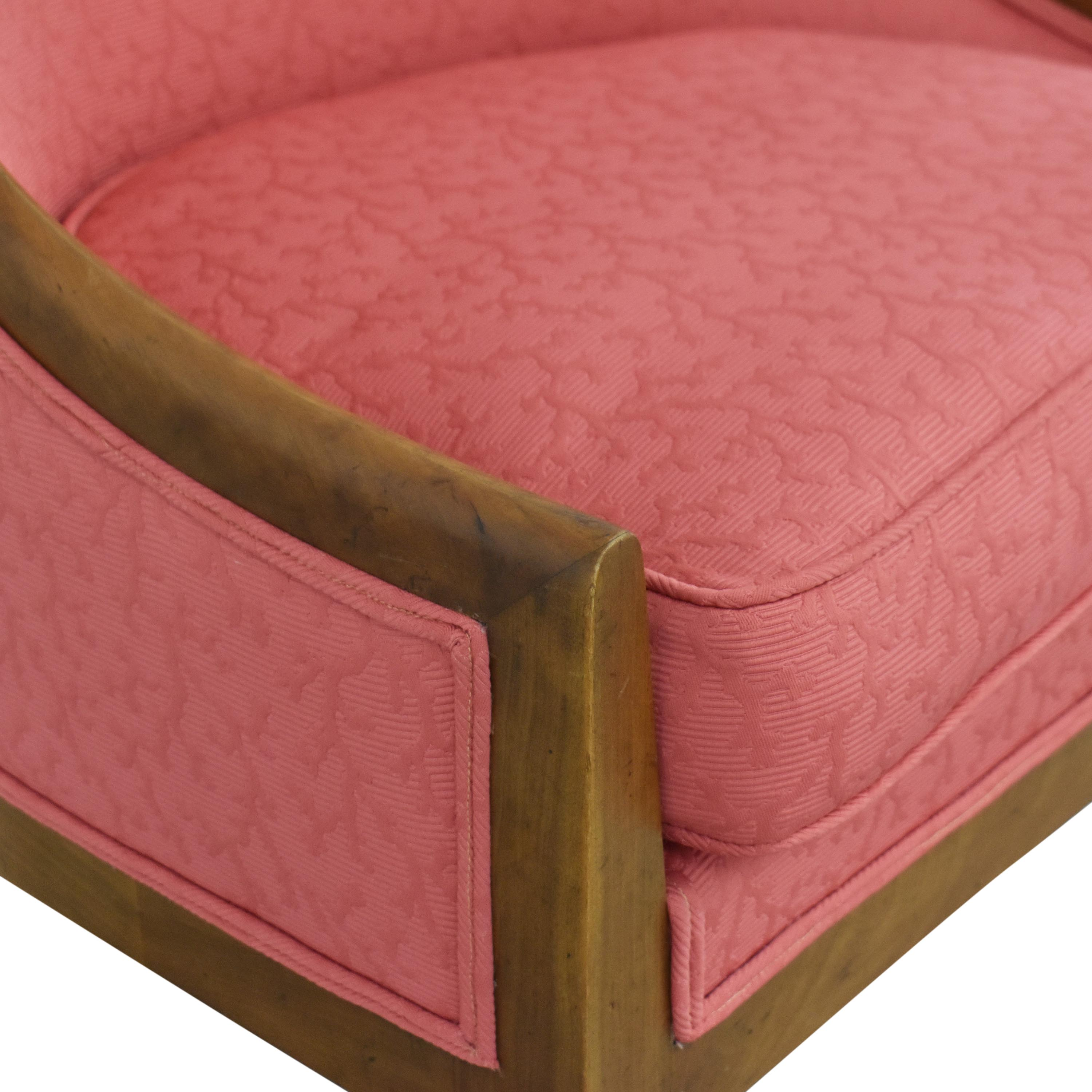 Upholstered Vintage Accent Chair