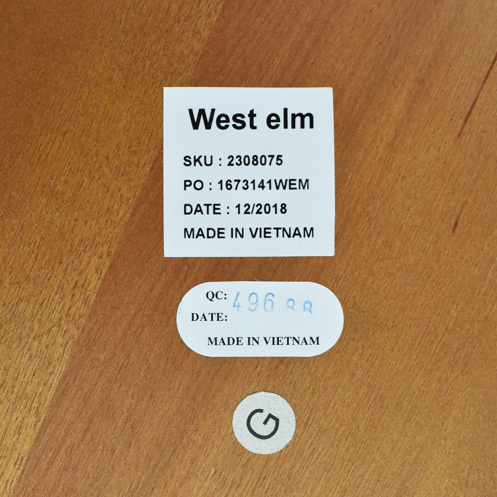 buy West Elm Retro Tripod Coffee Table West Elm
