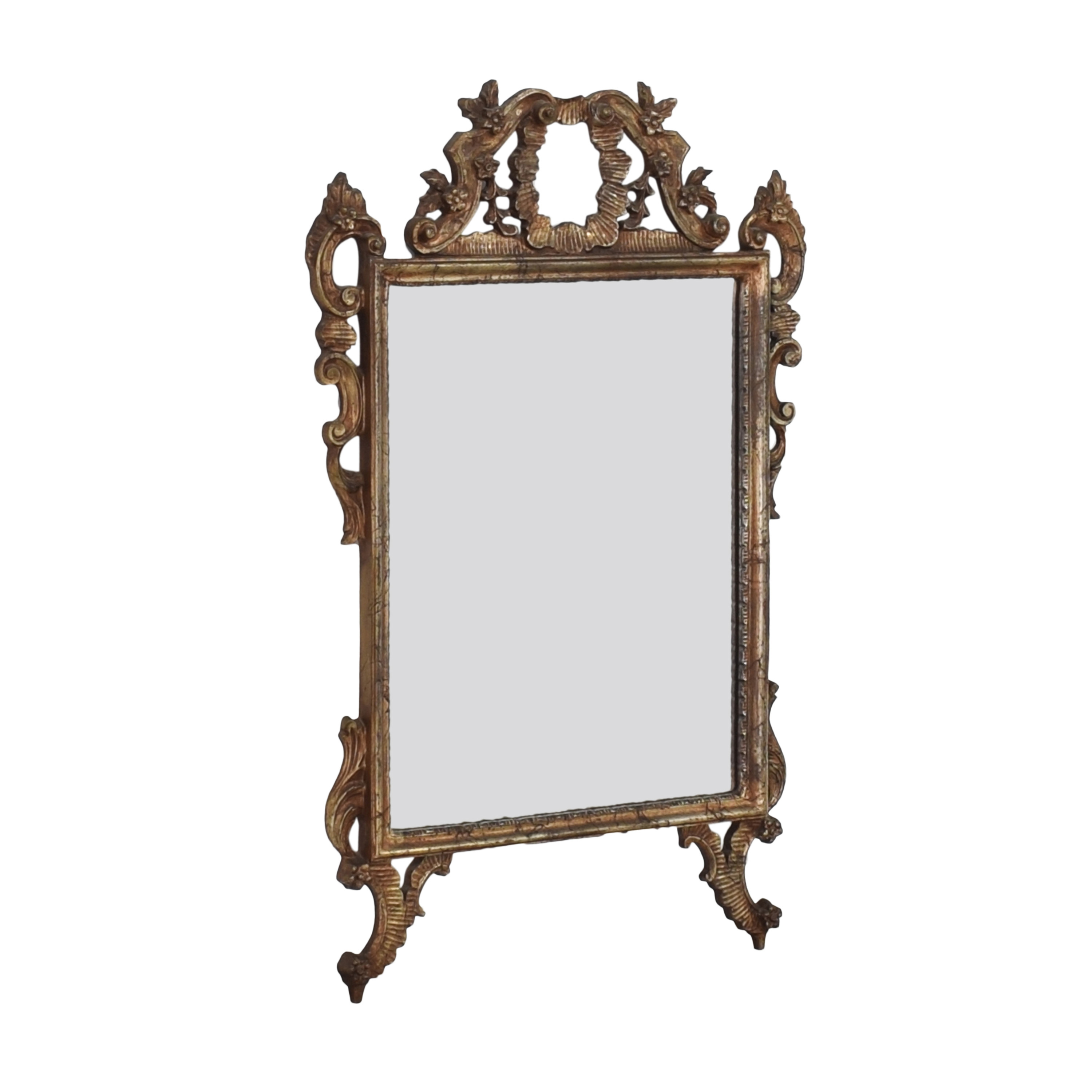 Ethan Allen Ethan Allen Carved Frame Wall Mirror dimensions