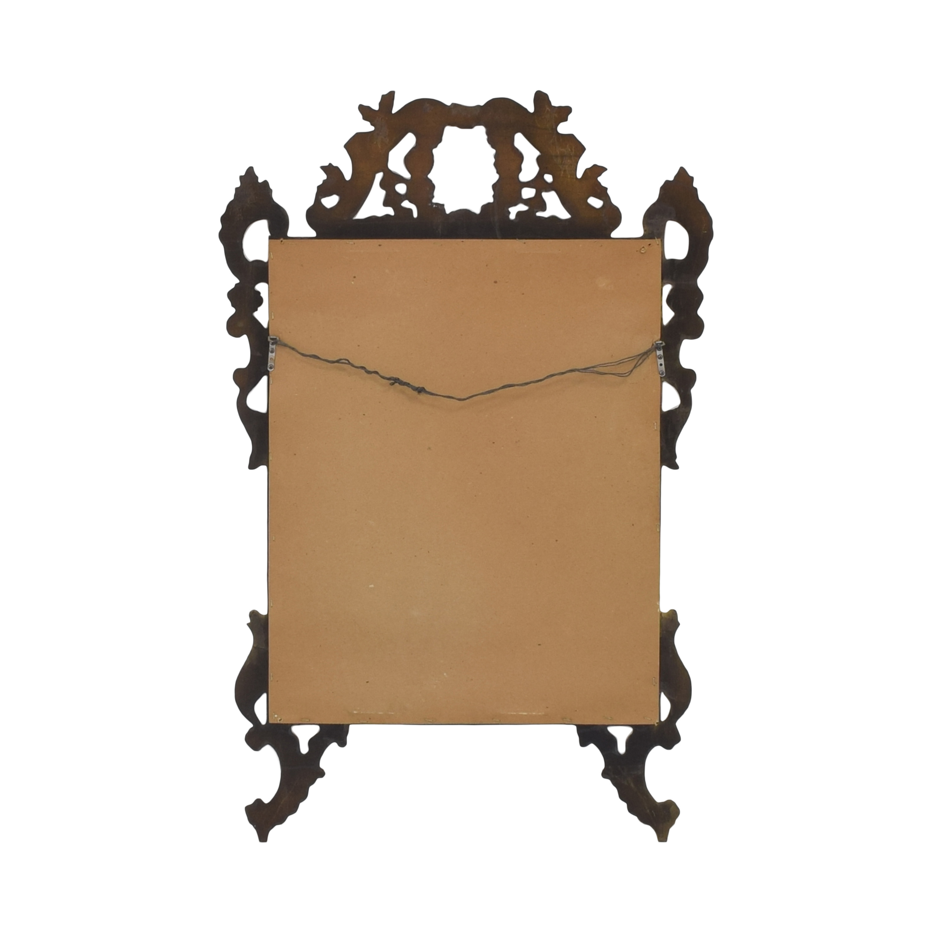 Ethan Allen Ethan Allen Carved Frame Wall Mirror on sale