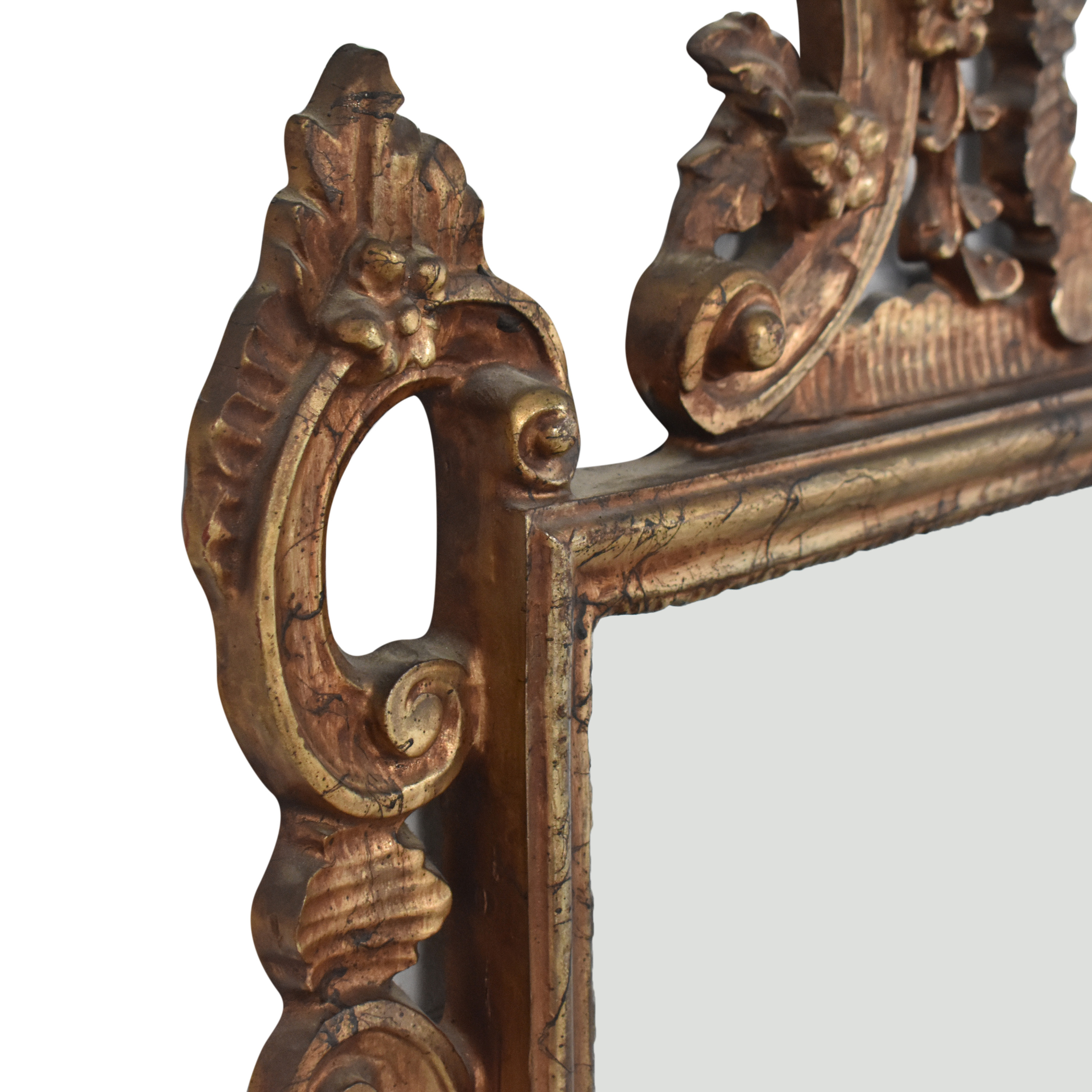 Ethan Allen Ethan Allen Carved Frame Wall Mirror second hand