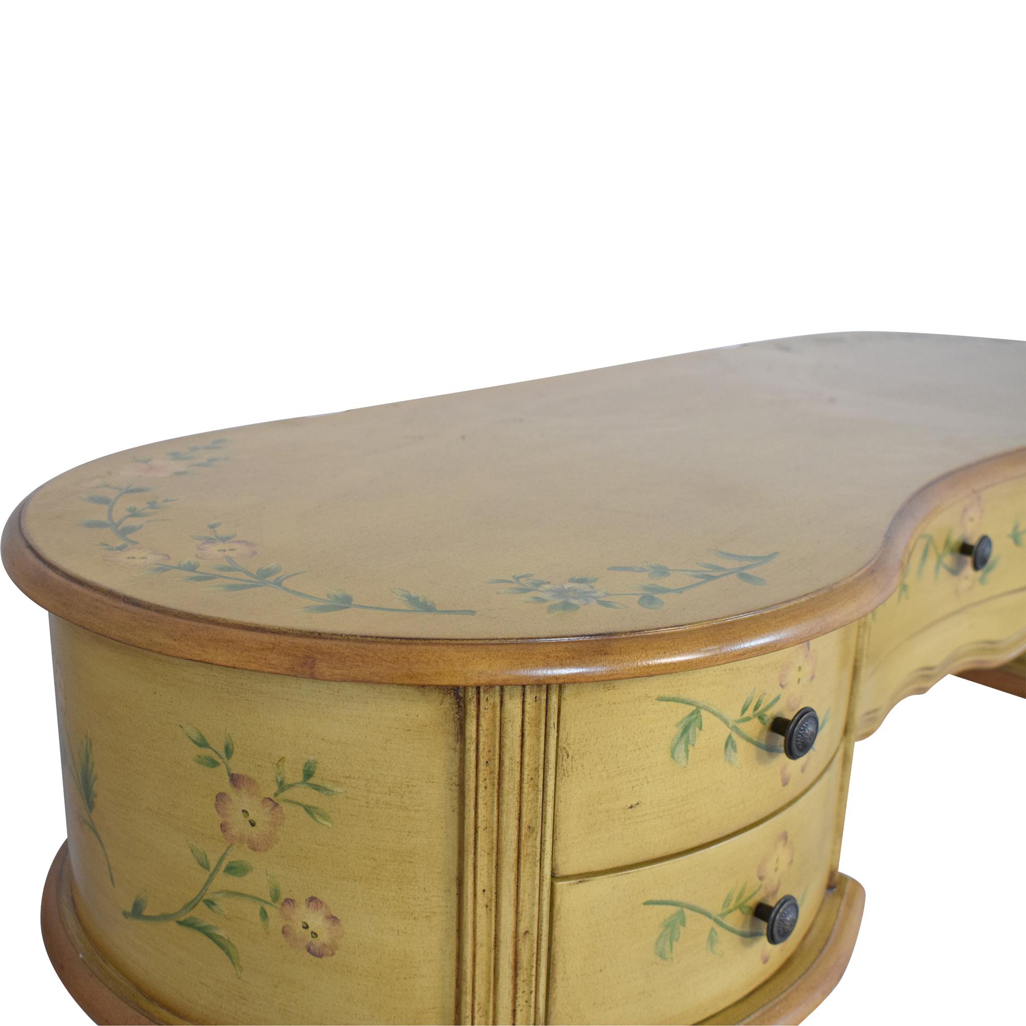 Vintage Floral Vanity Table / Tables