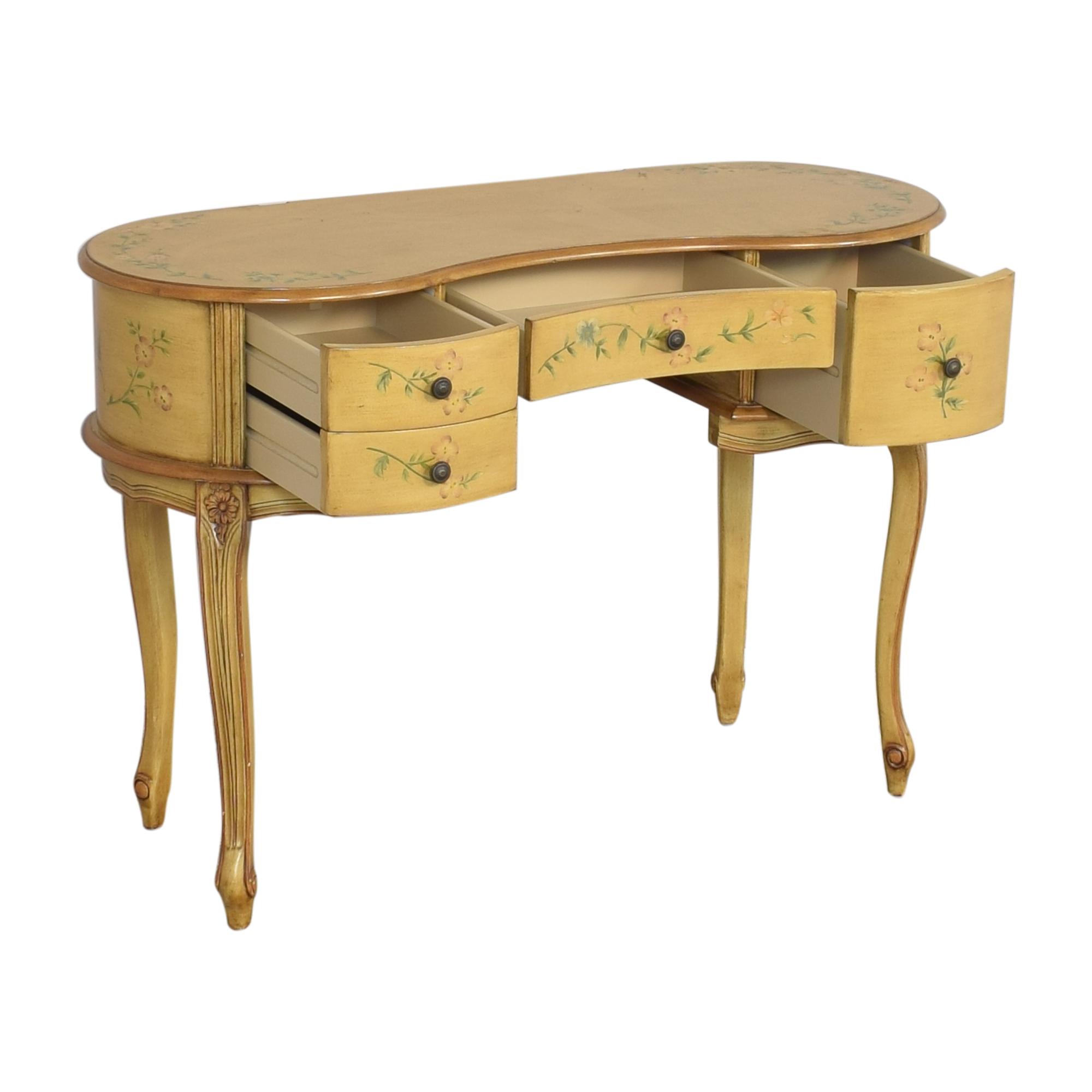 buy Vintage Floral Vanity Table  Tables