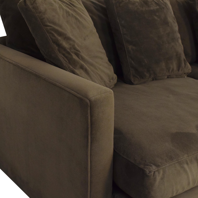 Crate & Barrel Crate & Barrel Lounge II Petite Sofa nyc