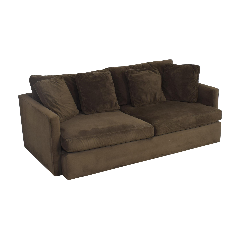 Crate & Barrel Crate & Barrel Lounge II Petite Sofa ma