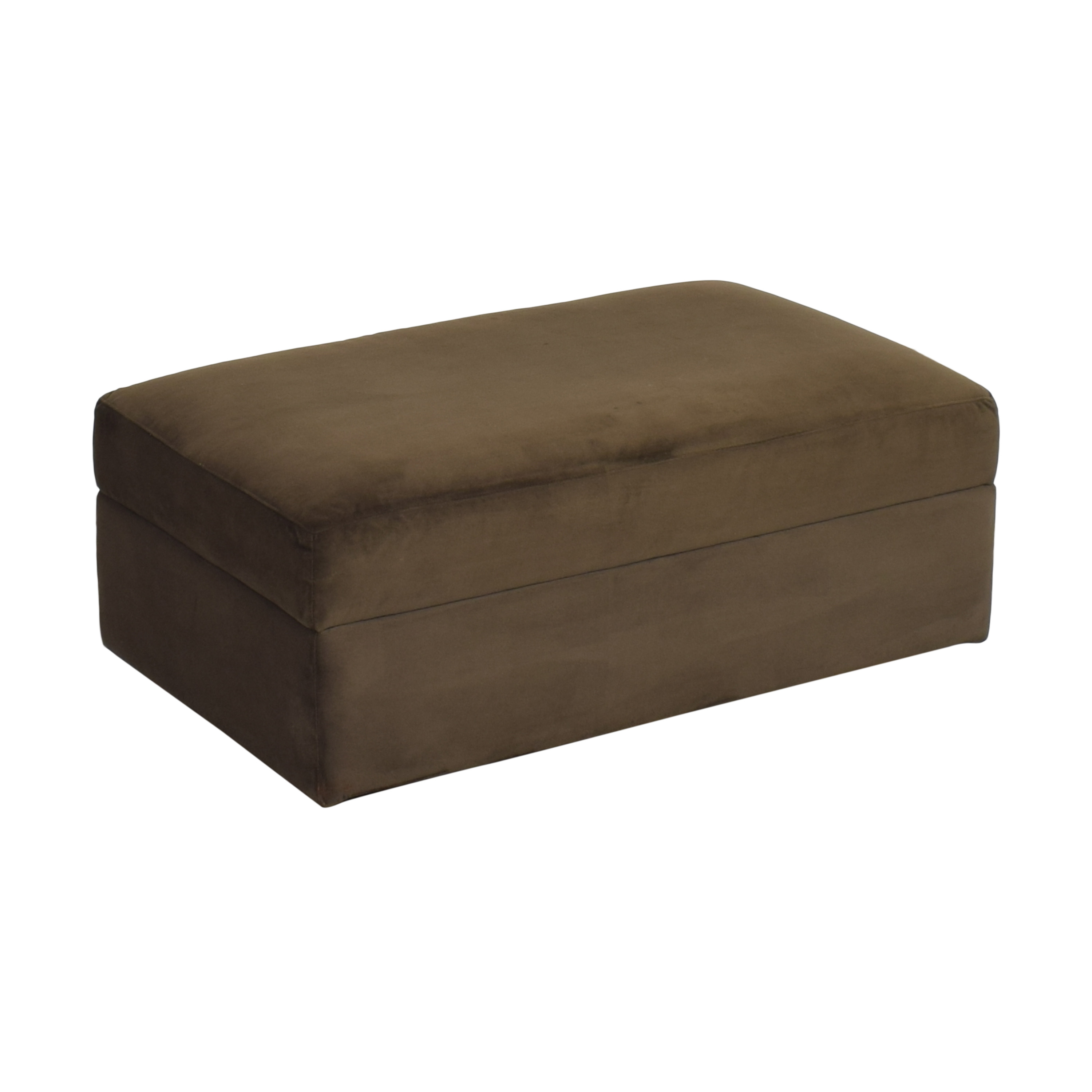 shop Crate & Barrel Crate & Barrel Lounge II Storage Ottoman with Casters online