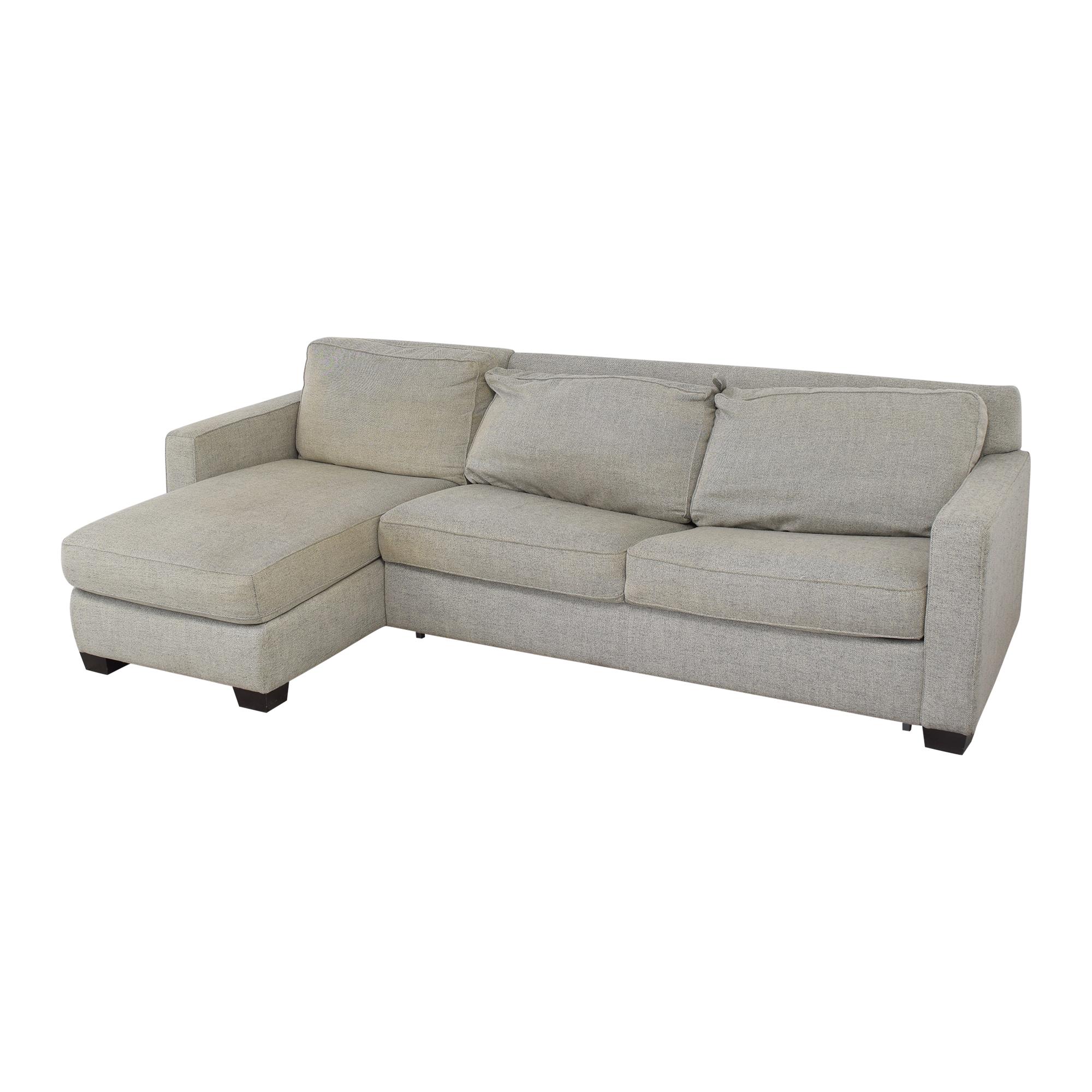 shop West Elm Henry 2-Piece Full Sleeper Storage Sofa West Elm Sofas