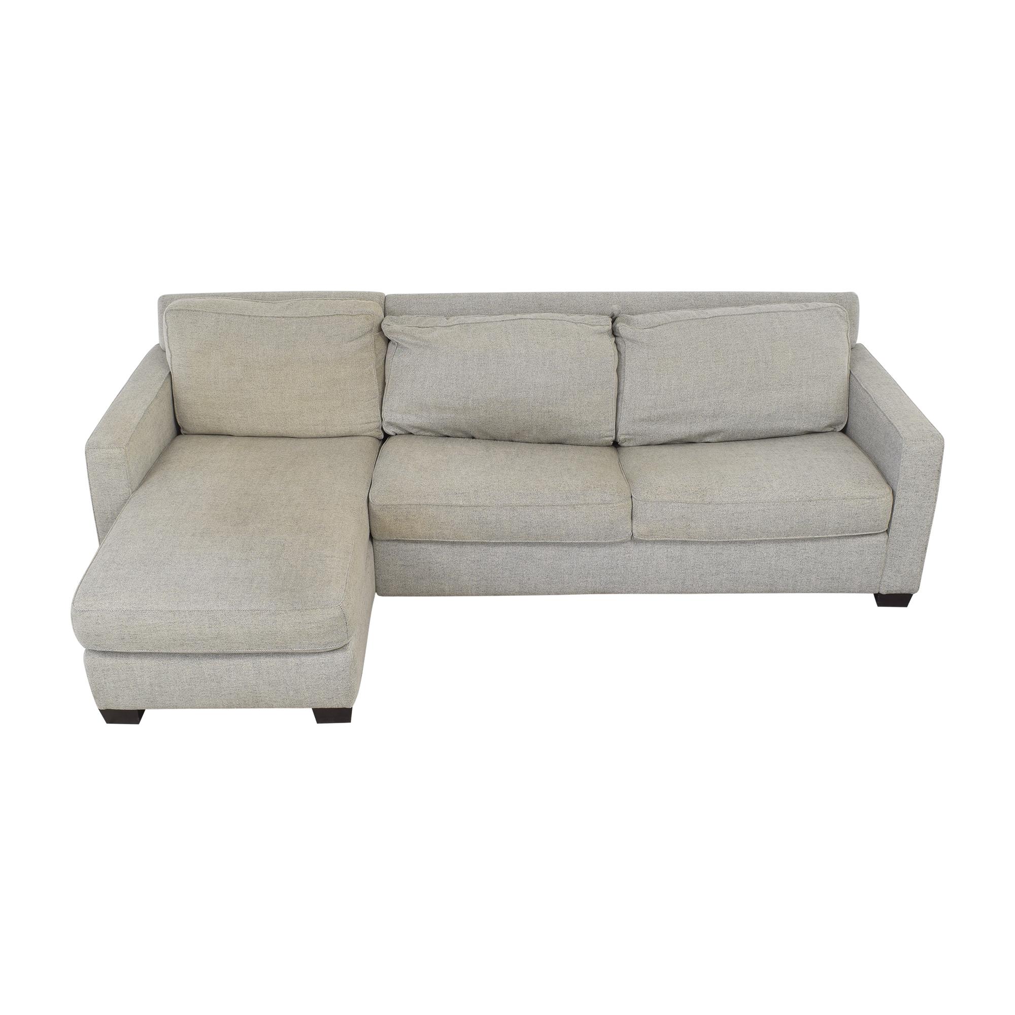 West Elm West Elm Henry 2-Piece Full Sleeper Storage Sofa Sofas