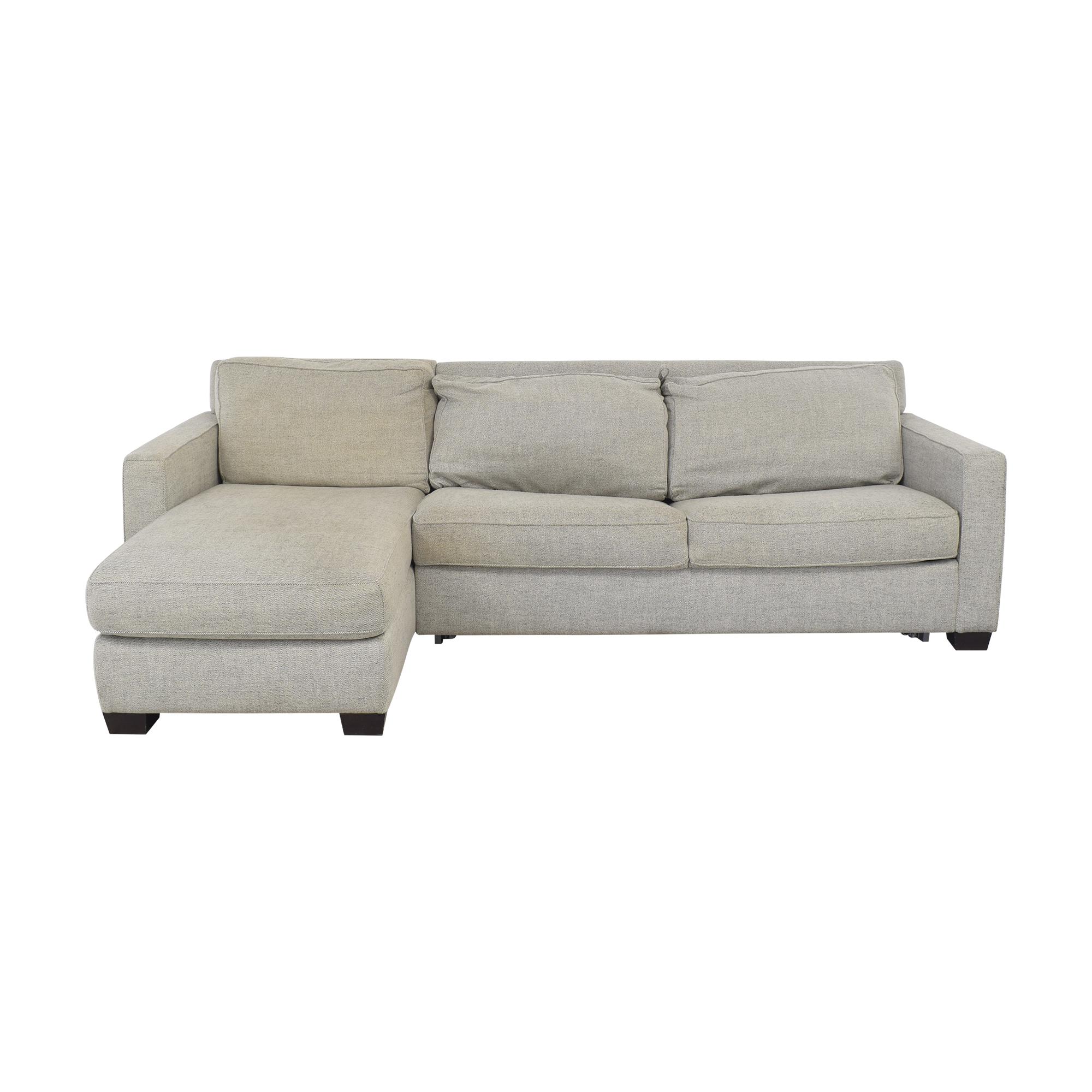 buy West Elm Henry 2-Piece Full Sleeper Storage Sofa West Elm