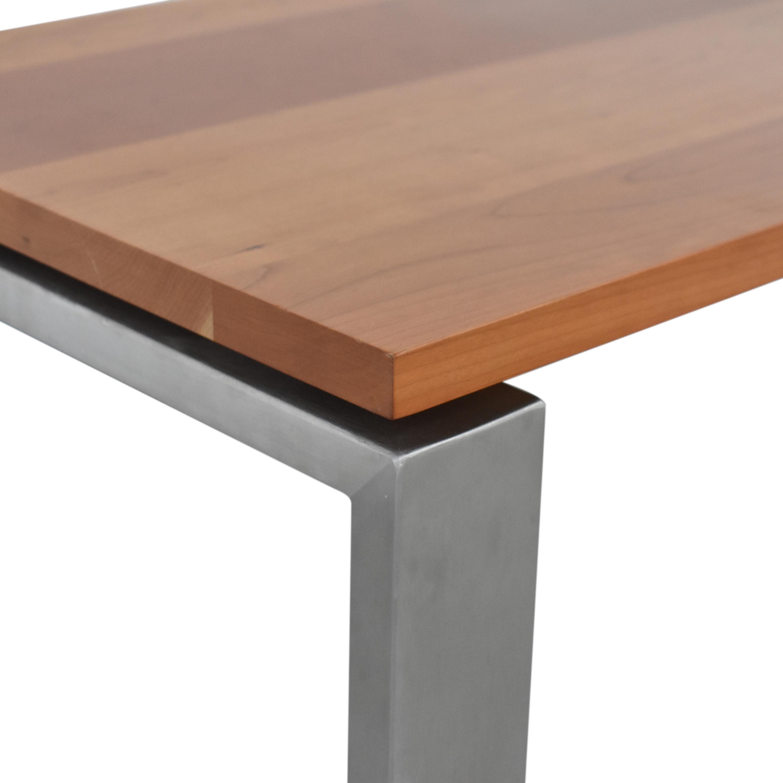 Room & Board Room & Board Rand Desk in Stainless Steel ct