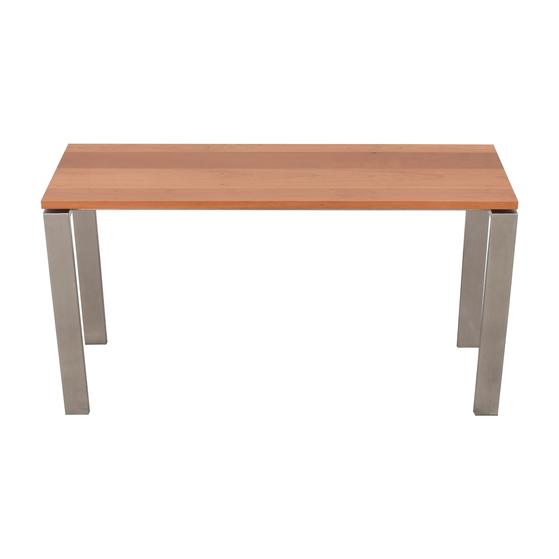 Room & Board Room & Board Rand Desk in Stainless Steel Tables