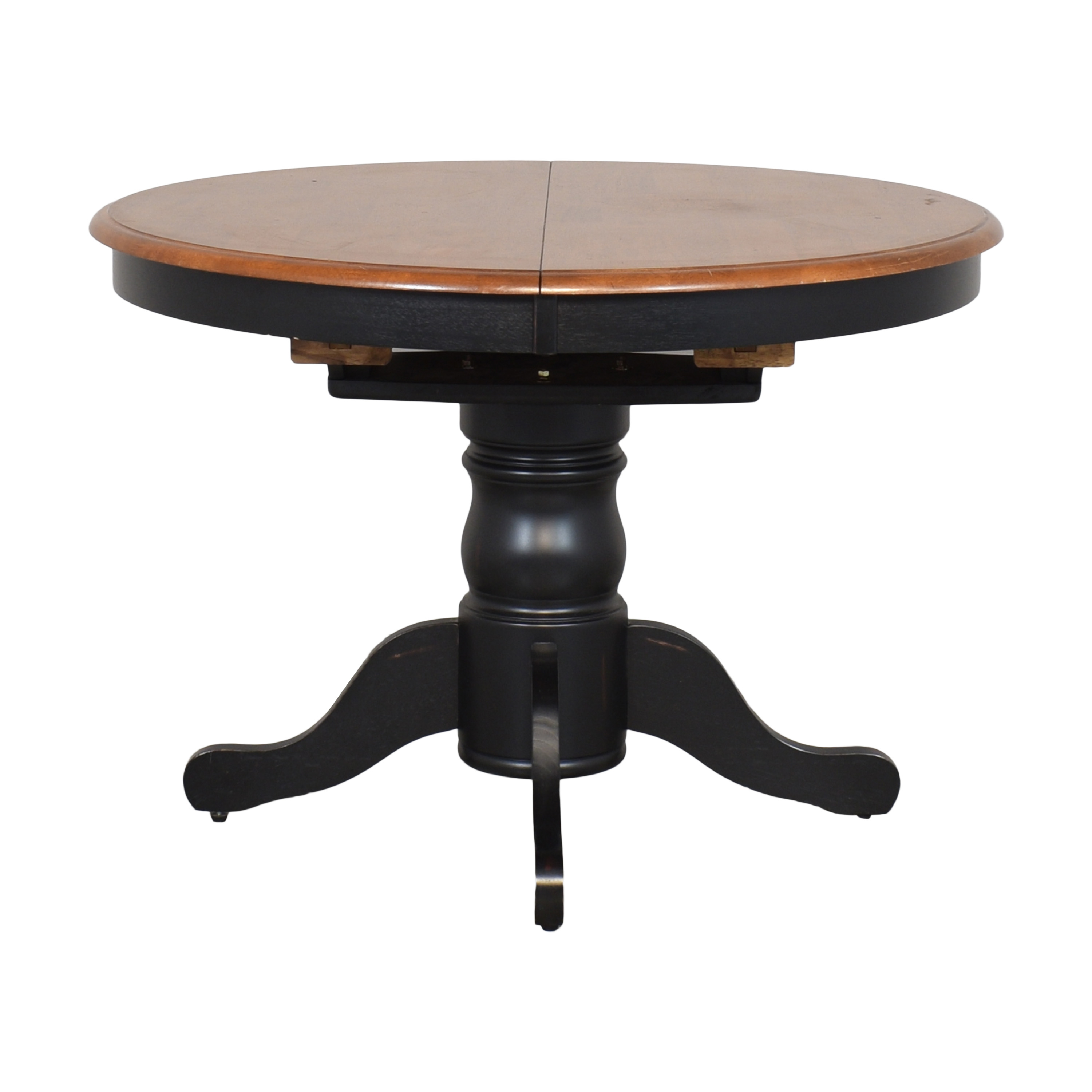 Raymour & Flanigan Raymour & Flanigan Expandable Dining Table ma