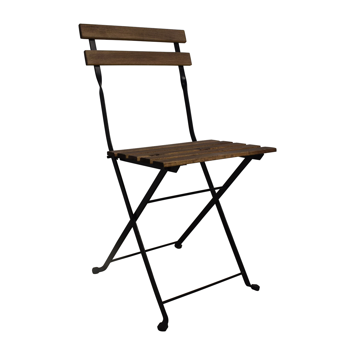 46% OFF IKEA IKEA Tarno Folding Table and Two Folding Chairs