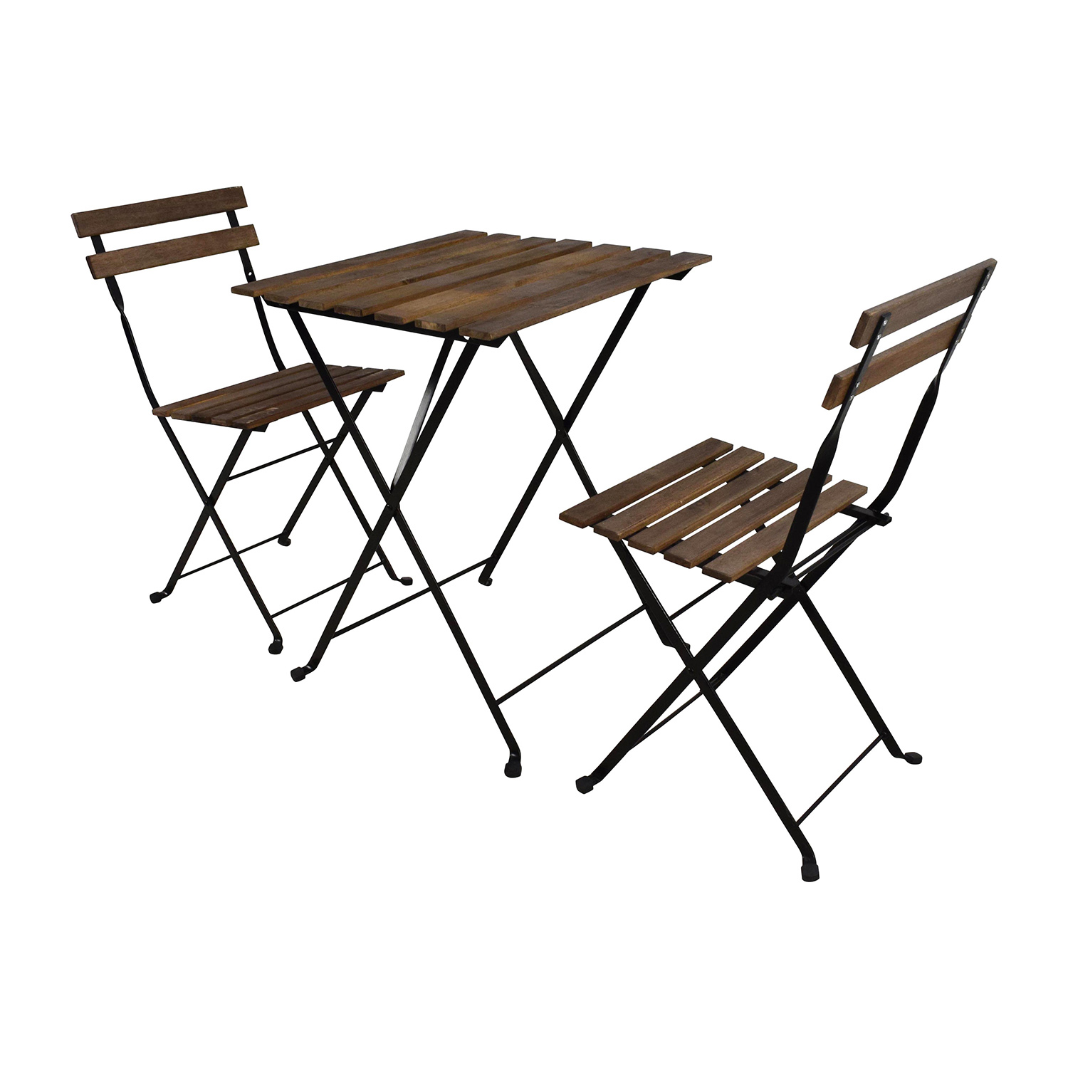 IKEA IKEA Tarno Folding Table and Two Folding Chairs discount