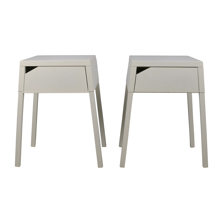 Ikea IKEA SELJE White Night Table Set