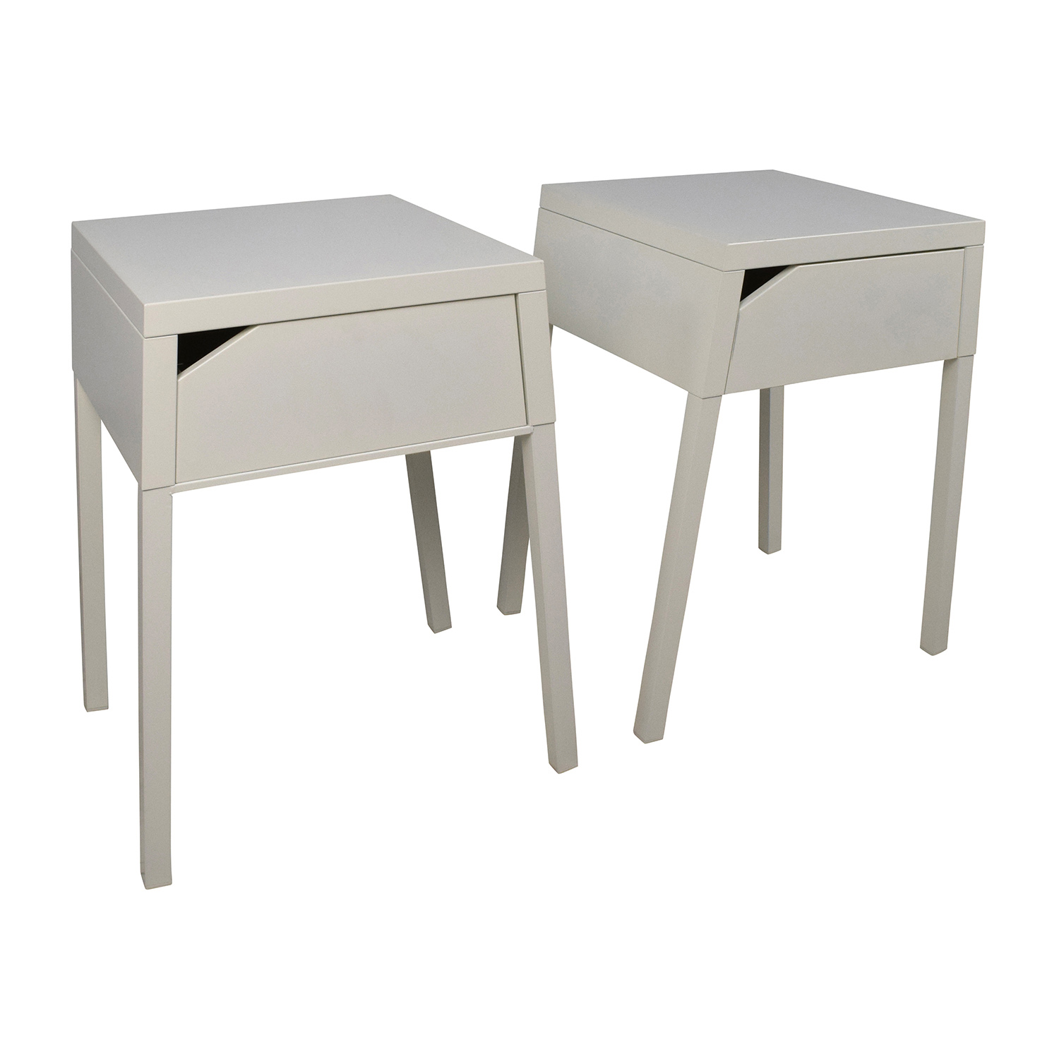 48 off ikea ikea selje white night table set tables