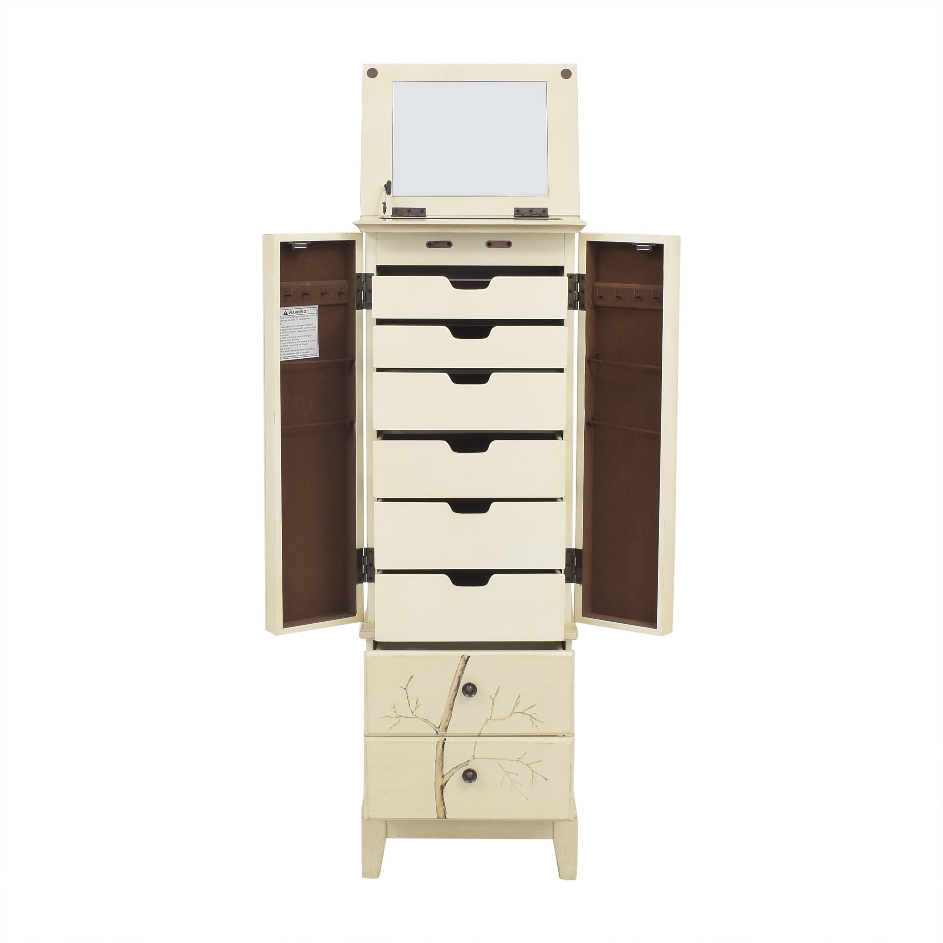 buy Home Decorators Collection Chirp Jewelry Armoire Home Decorators Collection