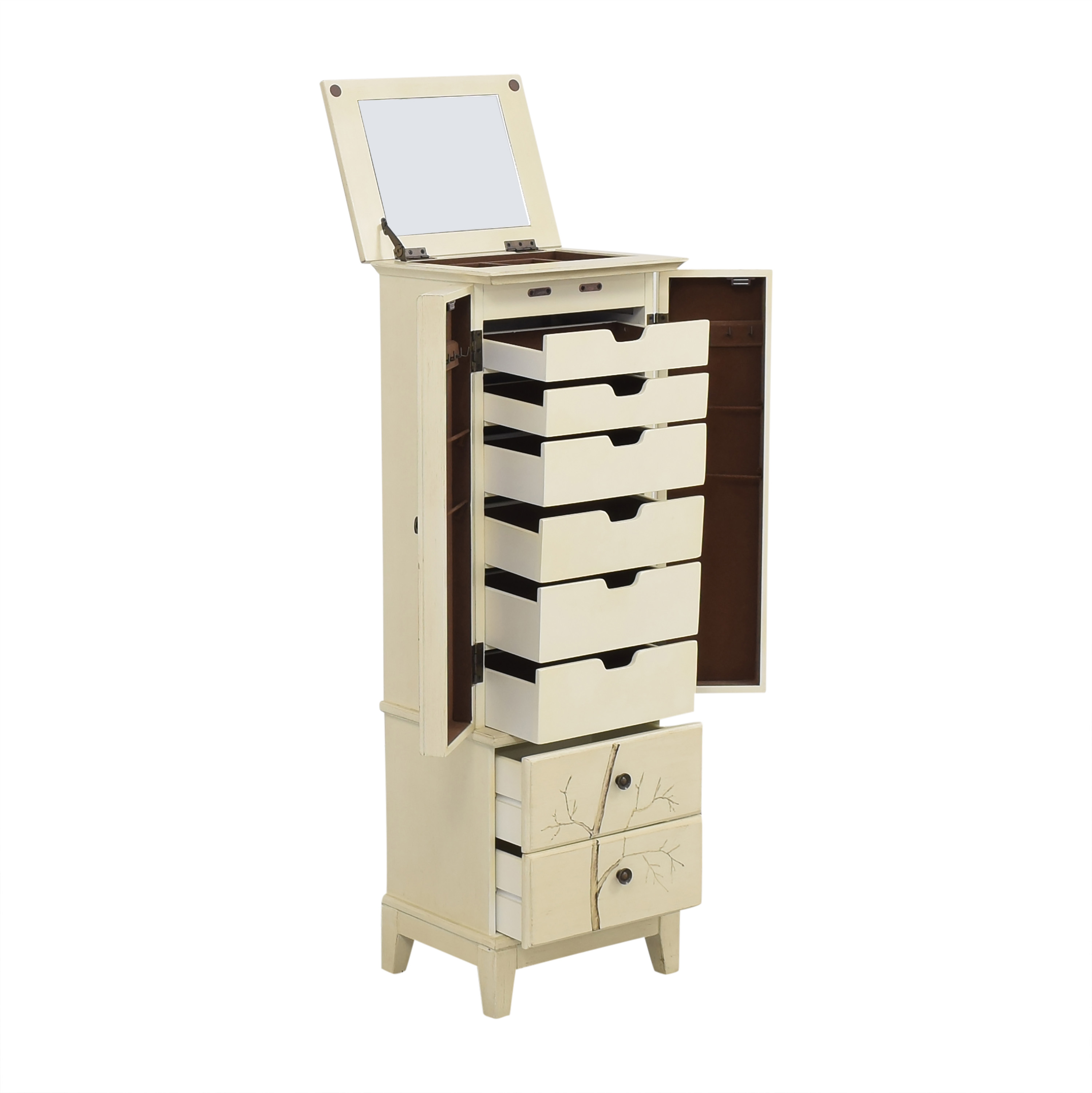 Home Decorators Collection Home Decorators Collection Chirp Jewelry Armoire on sale