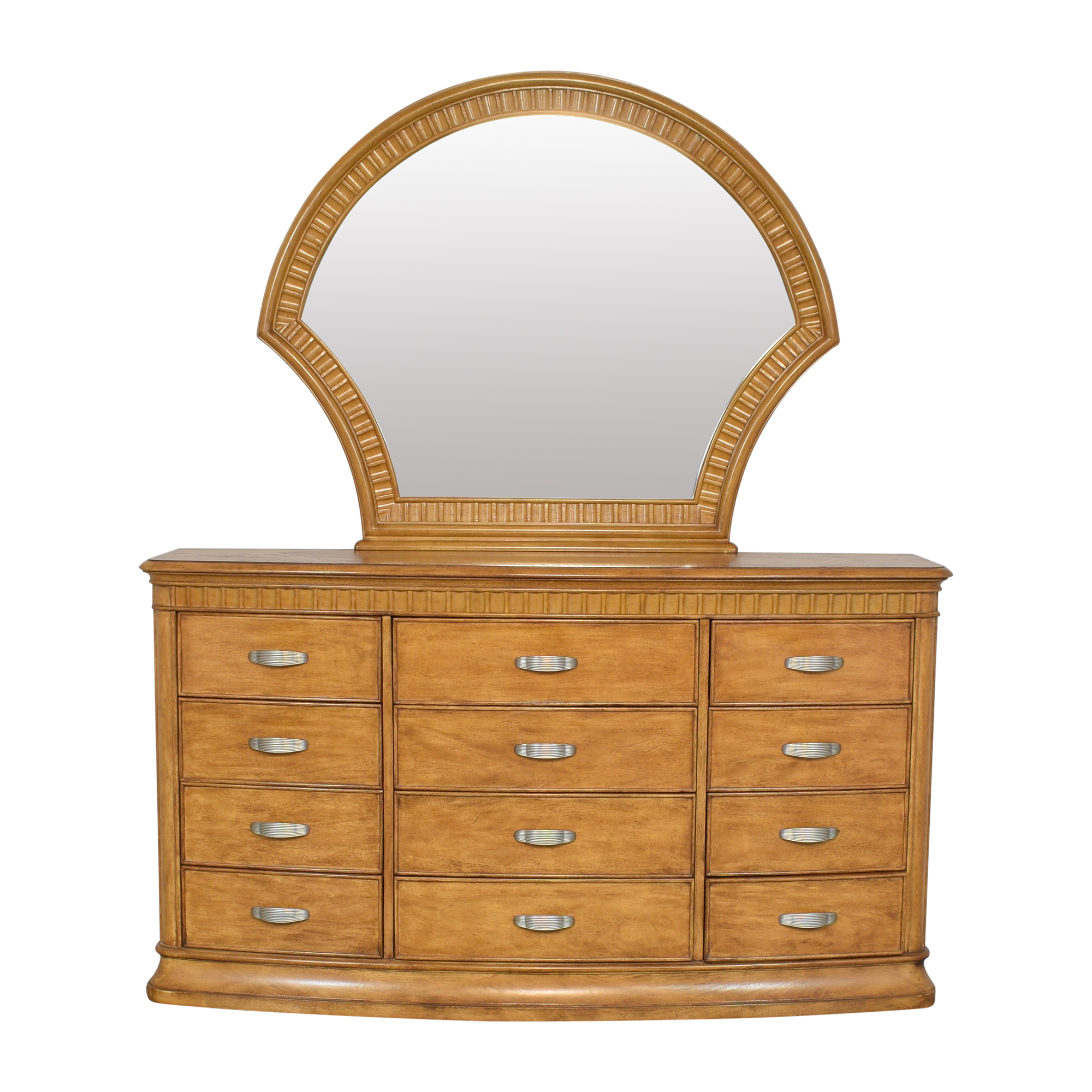 Triple Dresser Vanity with Mirror / Storage
