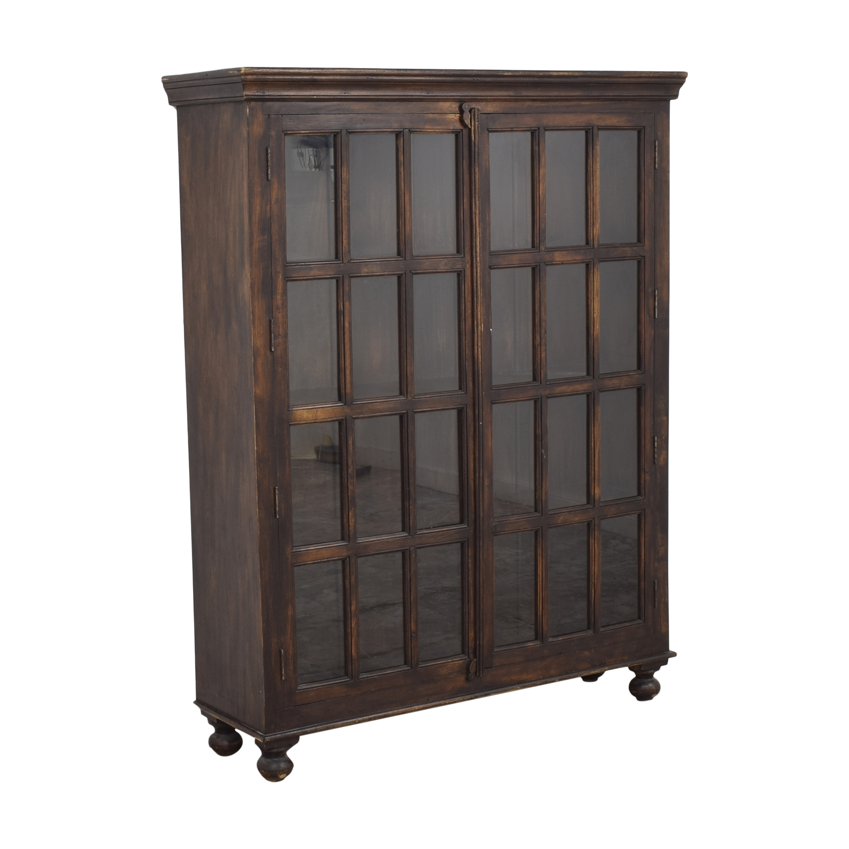 Crate & Barrel Crate & Barrel Faulkner Library Cabinet nyc