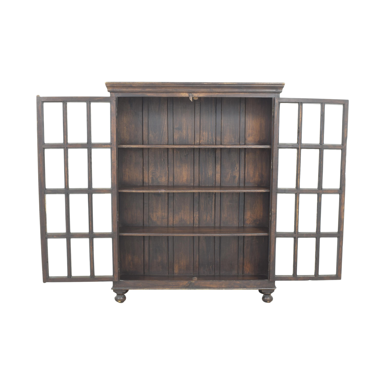 shop Crate & Barrel Faulkner Library Cabinet Crate & Barrel Storage
