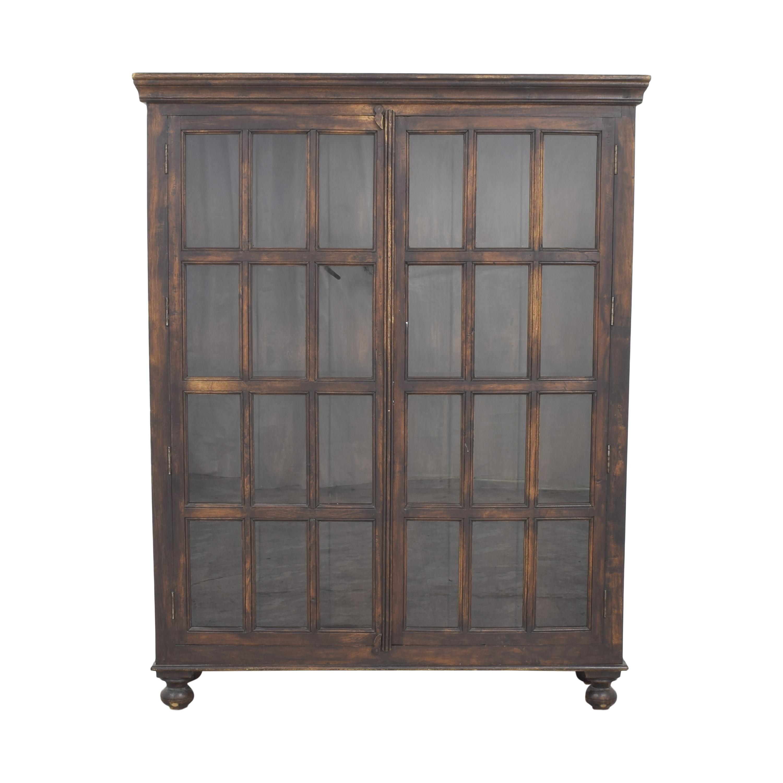 Crate & Barrel Crate & Barrel Faulkner Library Cabinet ma