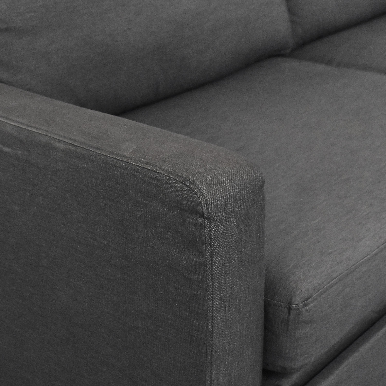 IKEA IKEA Two Cushion Modern Sleeper Sofa Sofas