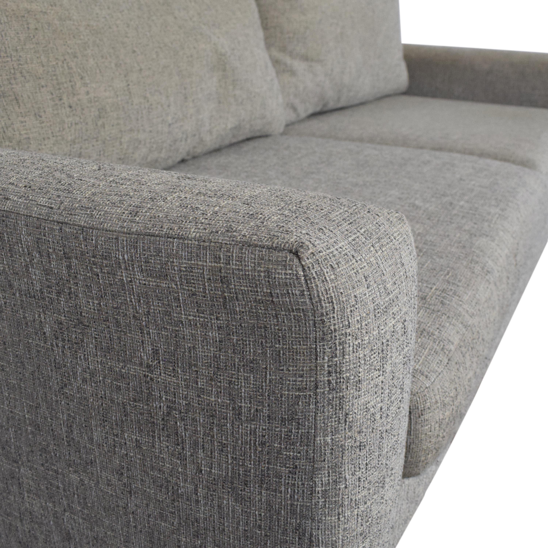 West Elm Eddy Two Cushion Sofa / Classic Sofas
