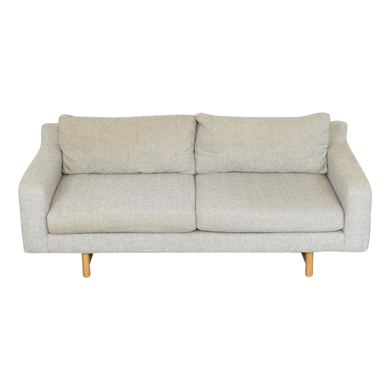 West Elm West Elm Eddy Two Cushion Sofa ct