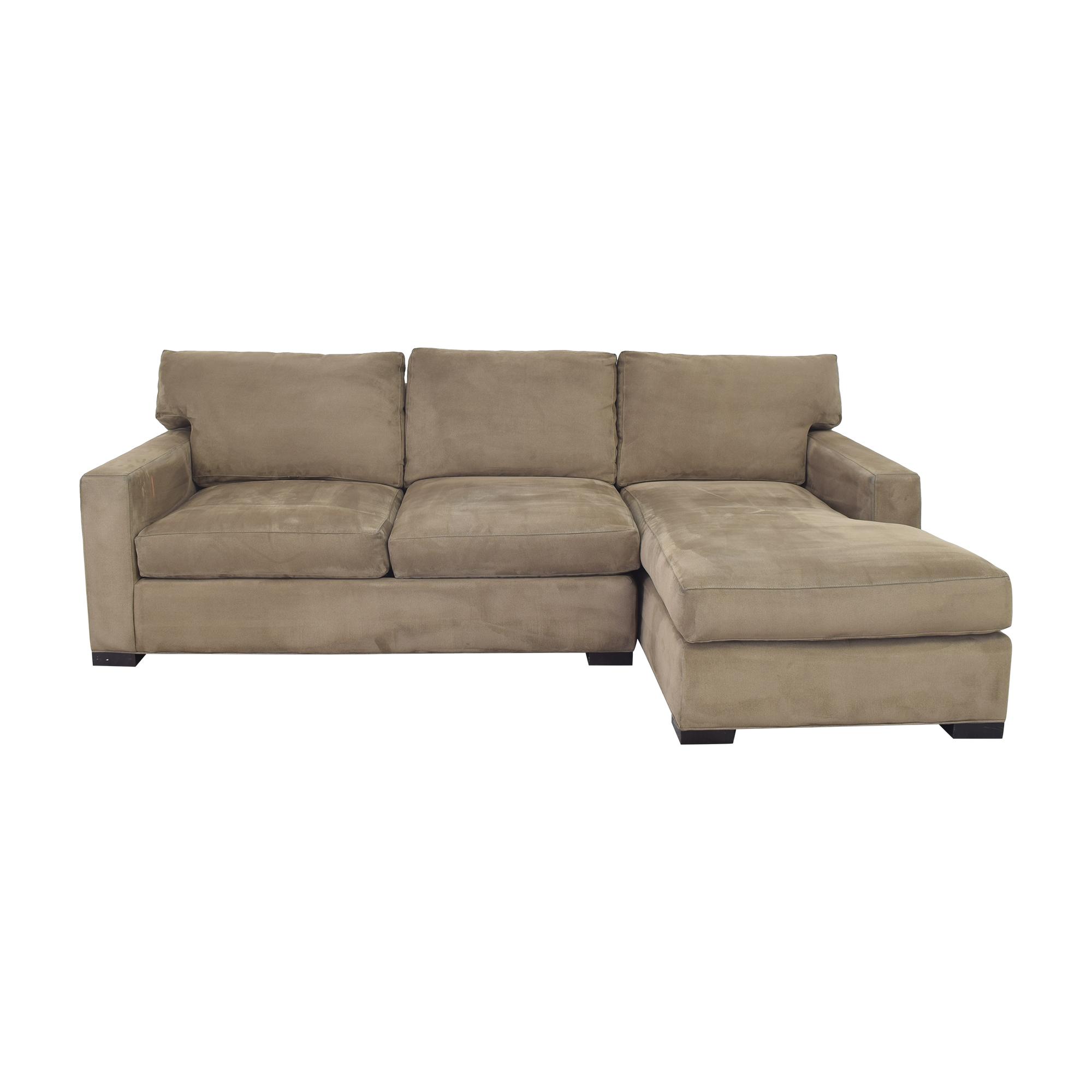 Crate & Barrel Crate & Barrel Axis Sectional Sofa nj