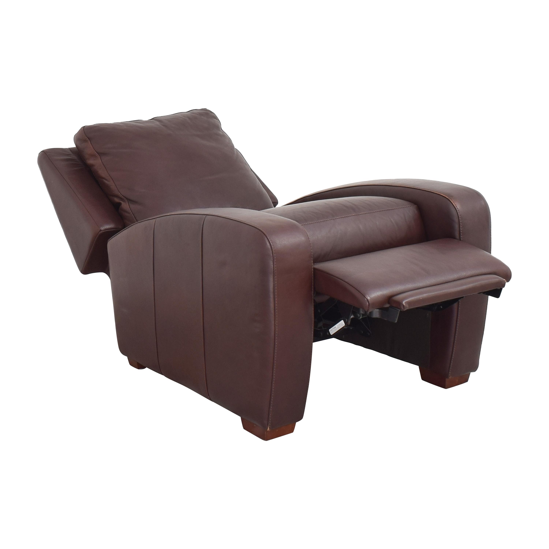 Crate & Barrel Crate & Barrel Club Recliner Chairs