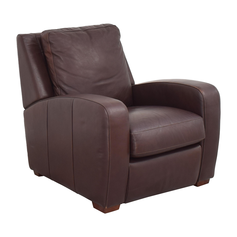 buy Crate & Barrel Club Recliner Crate & Barrel Chairs