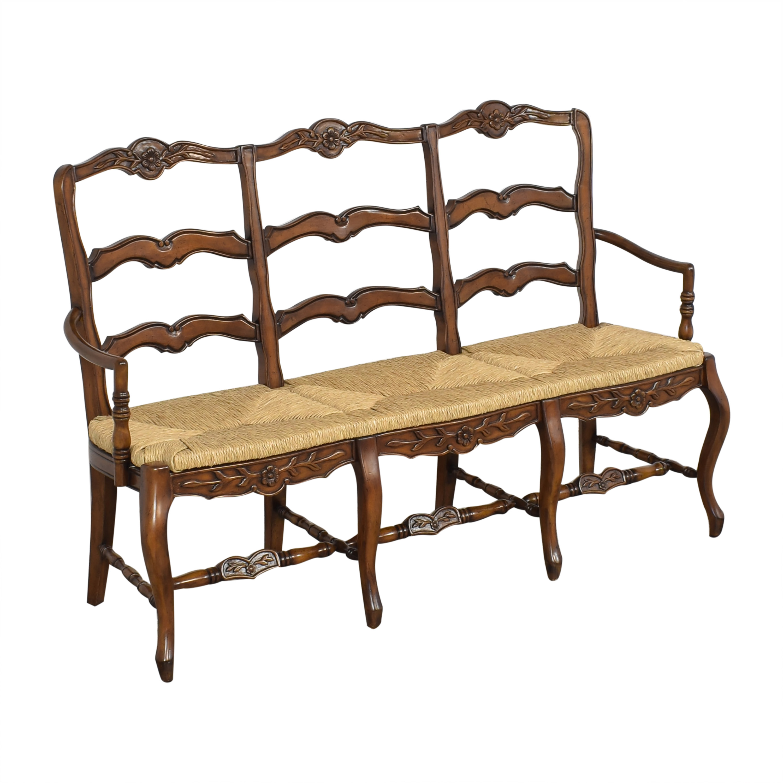 Artistica Artistica Cane Seat Dining Bench nyc