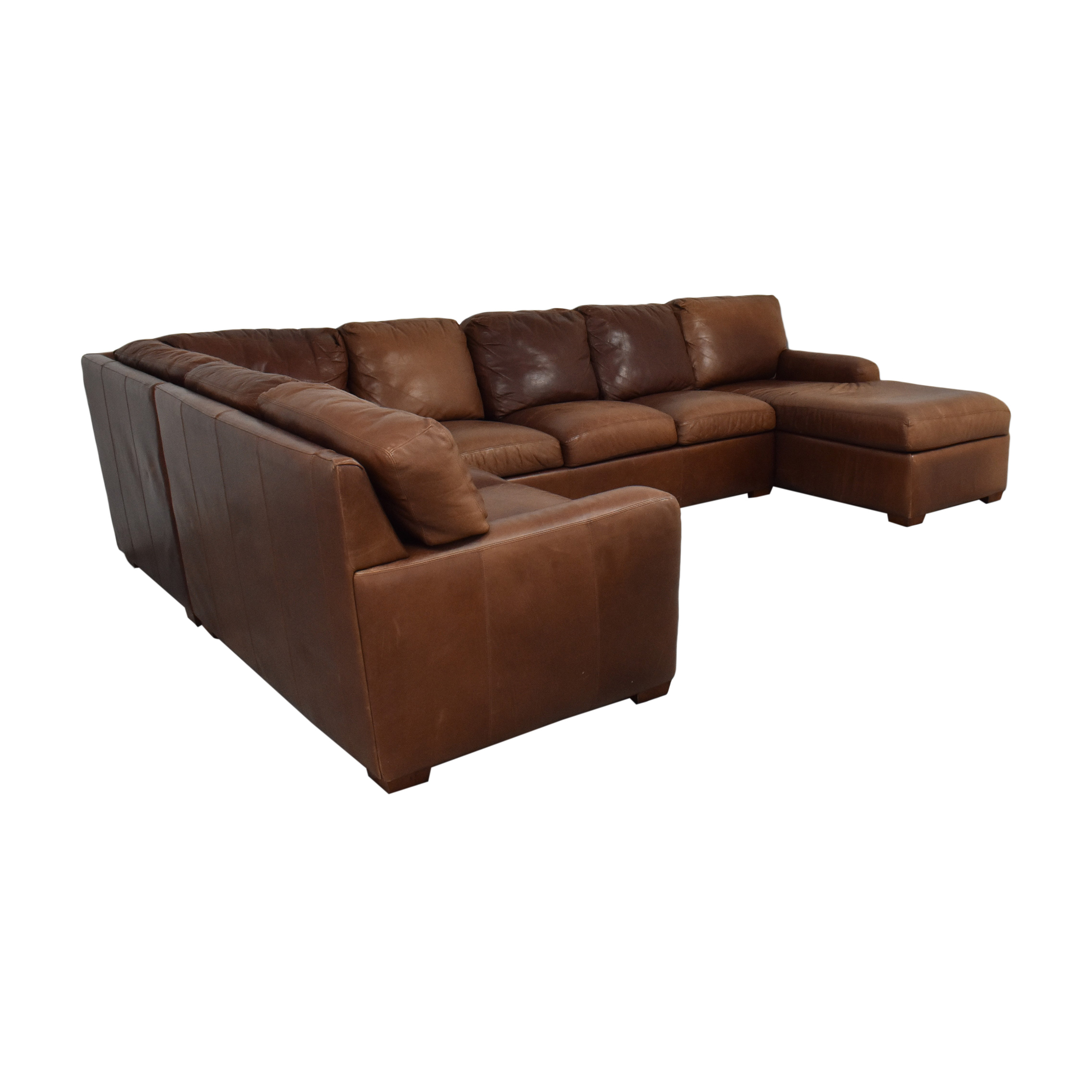 American Leather American Leather Danford Sectional Sofa Sofas