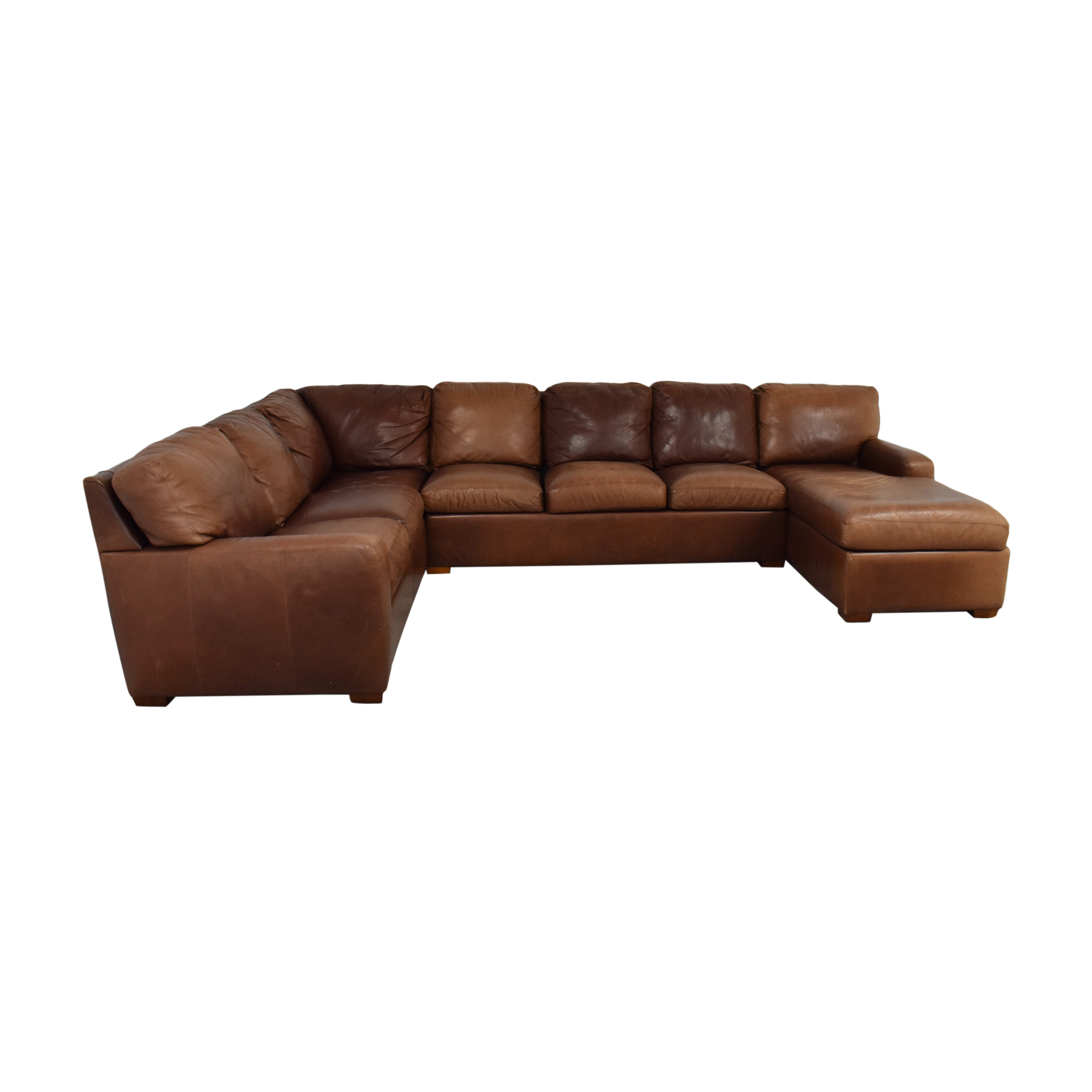 shop American Leather American Leather Danford Sectional Sofa online